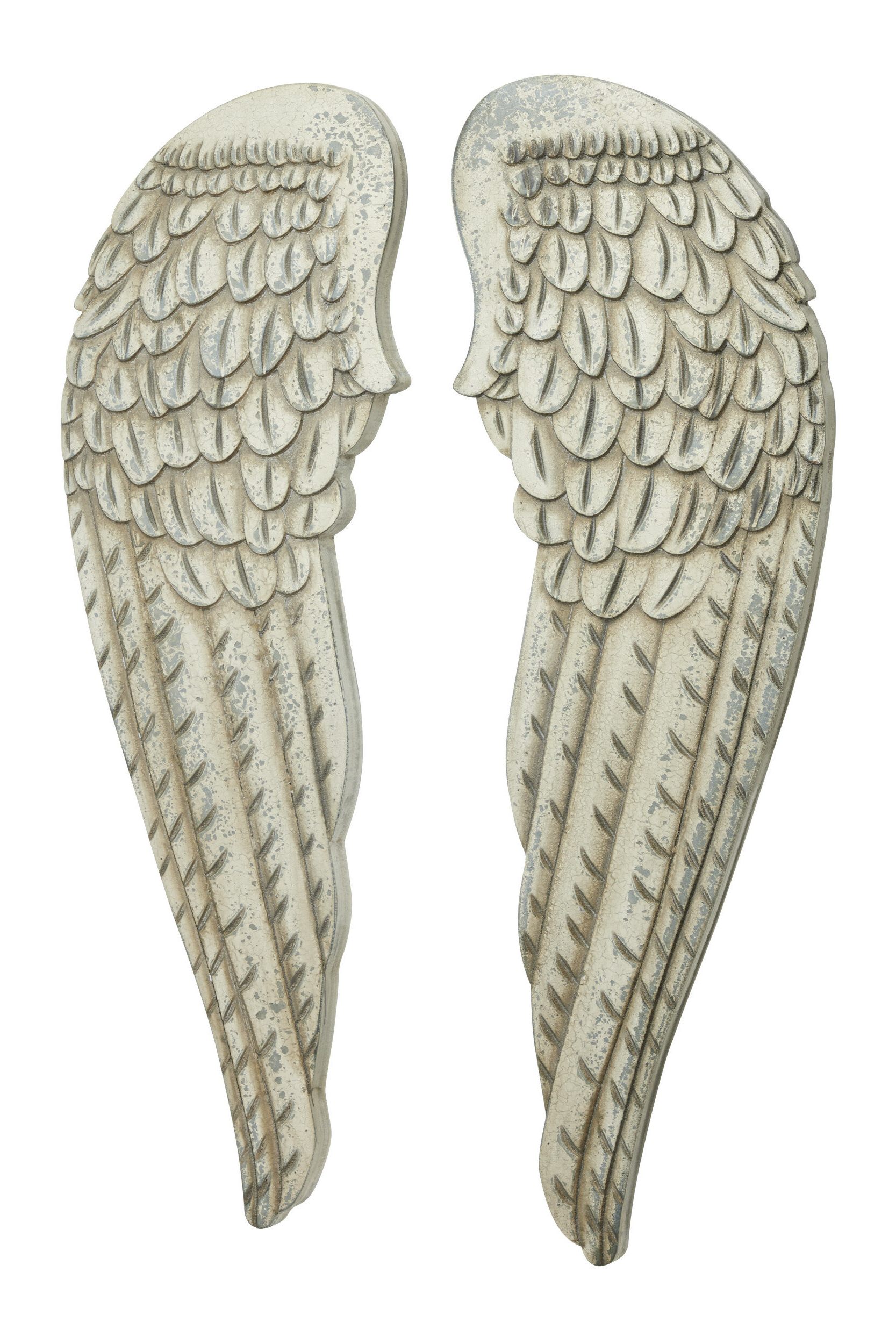Latest Wing Wall Décor By One Allium Way Intended For 2 Piece Distressed Angel Wings Wood Wall Décor Set (View 3 of 20)