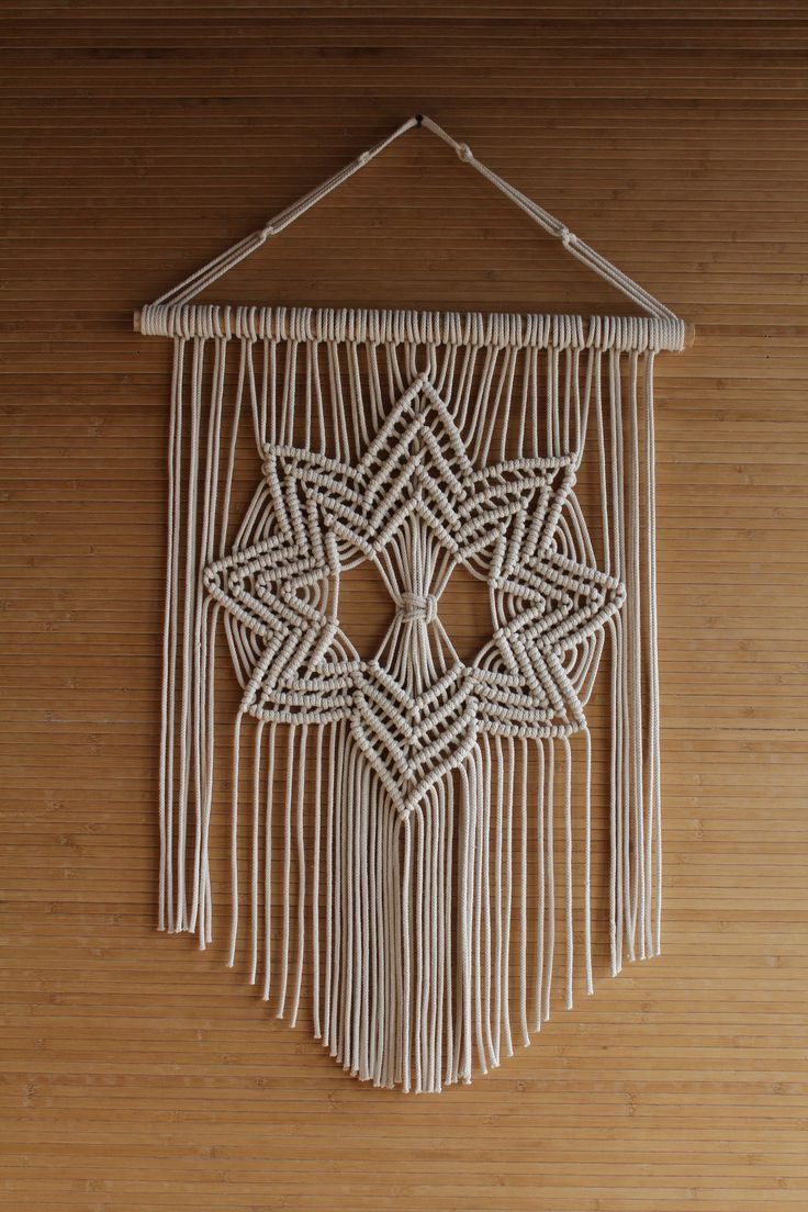 Macrame Wall Hanging, Macrame Design Inside Popular Blended Fabric Artifice Ii Wall Hangings (View 3 of 20)