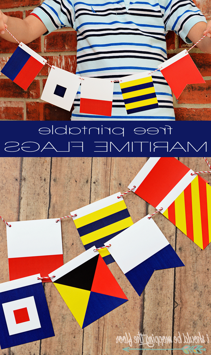 Maritime Flags, Nautical (View 18 of 20)