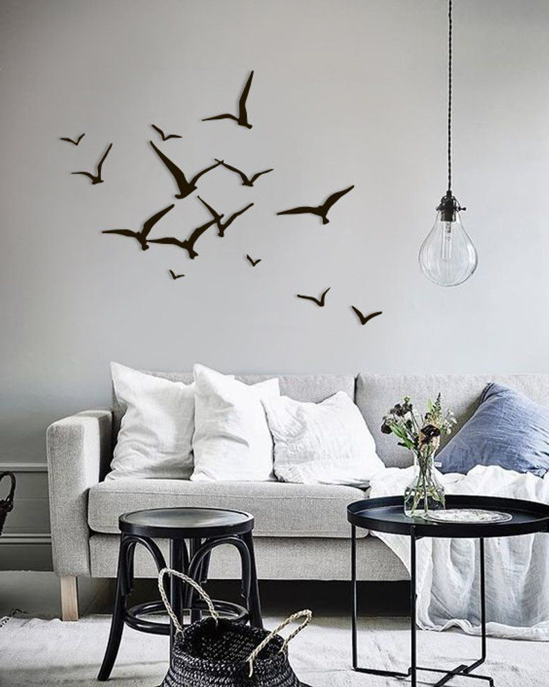 Metal Birds Wall Décor By Beachcrest Home Intended For Popular Metal Bird Wall Art Flying Birds Seagulls Home Decor Metal (View 12 of 20)