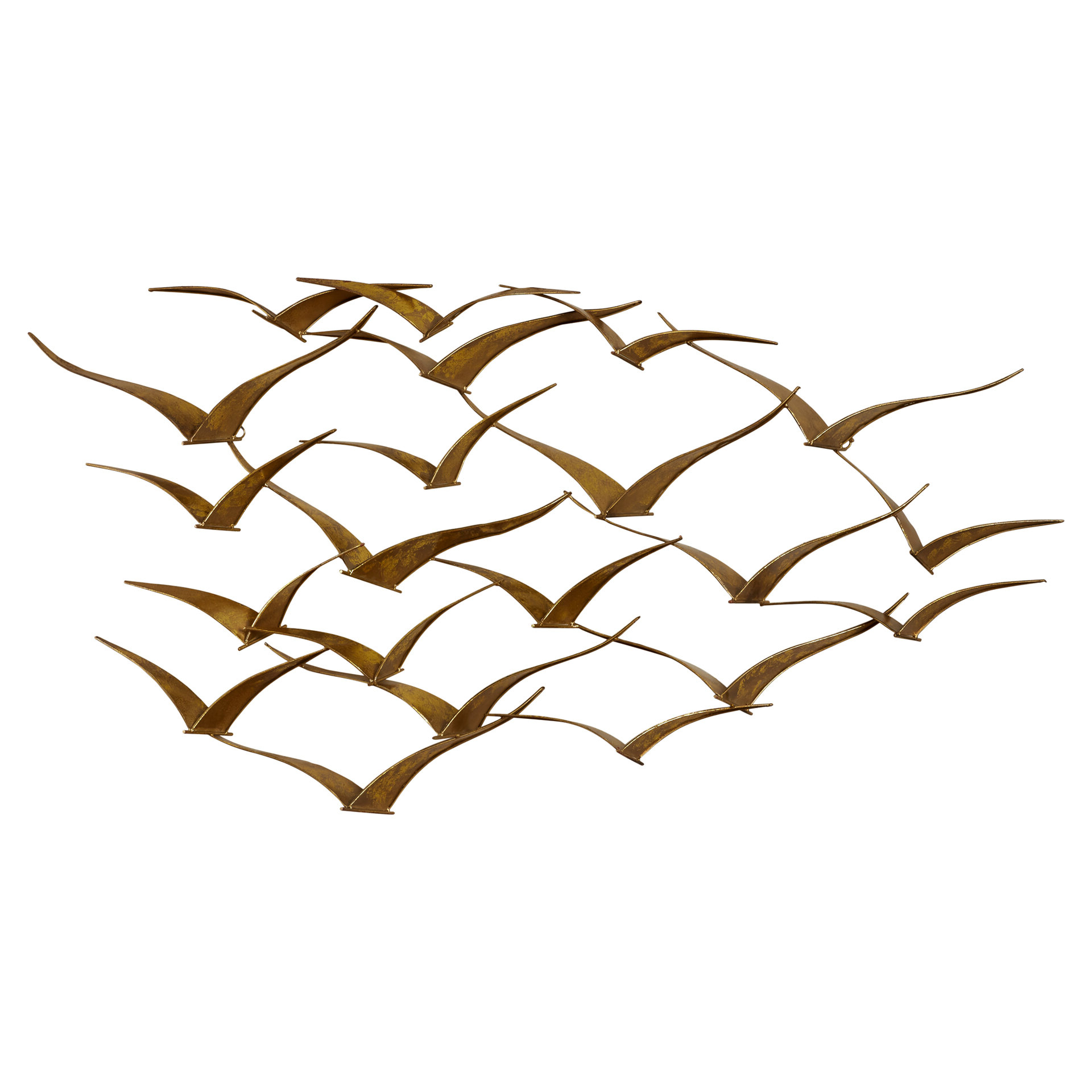 Metal Birds Wall Décor By Beachcrest Home Pertaining To Favorite Beautiful Patterned Metal Flocking Birds Wall Decor (View 10 of 20)