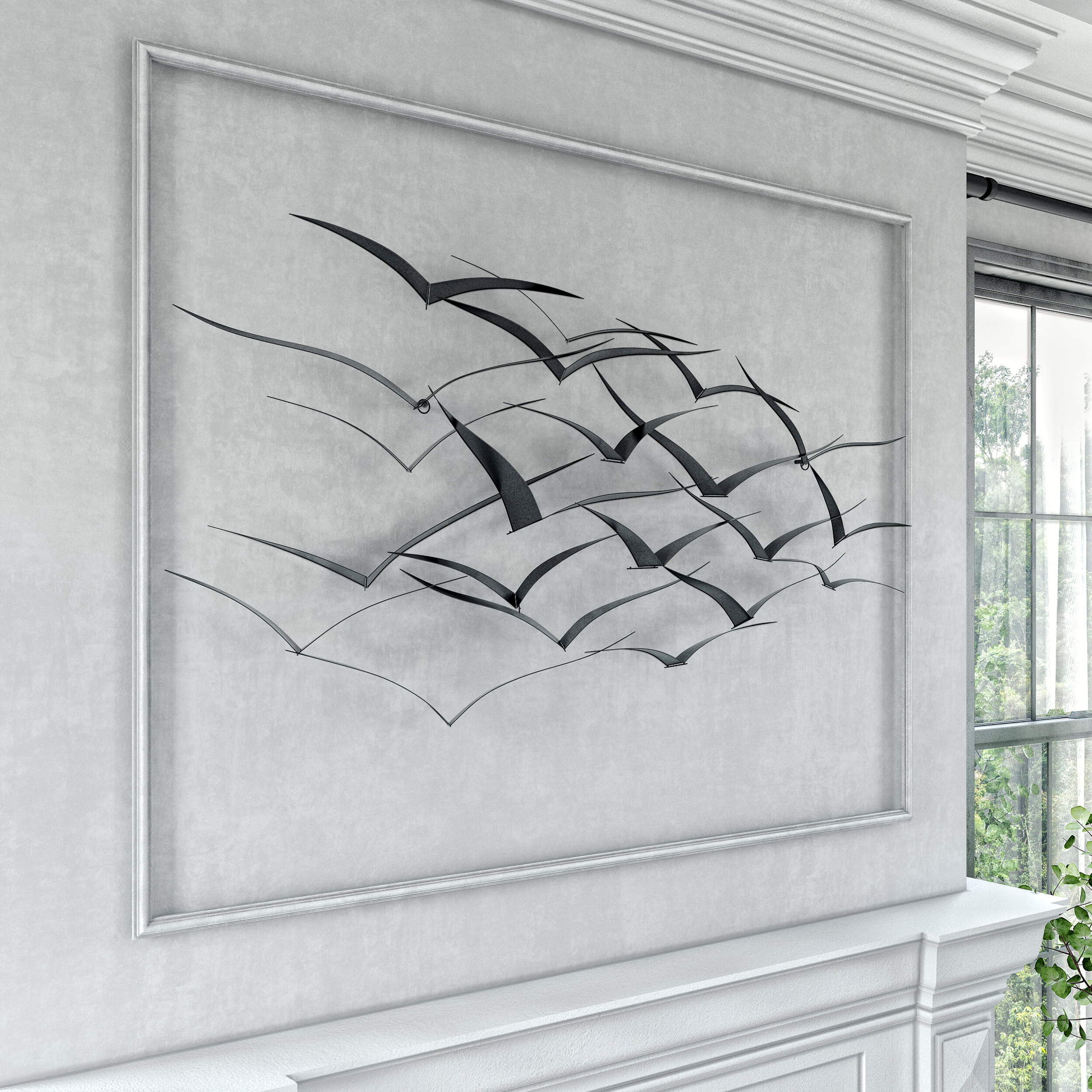 Featured Photo of Metal Birds Wall Décor By Beachcrest Home