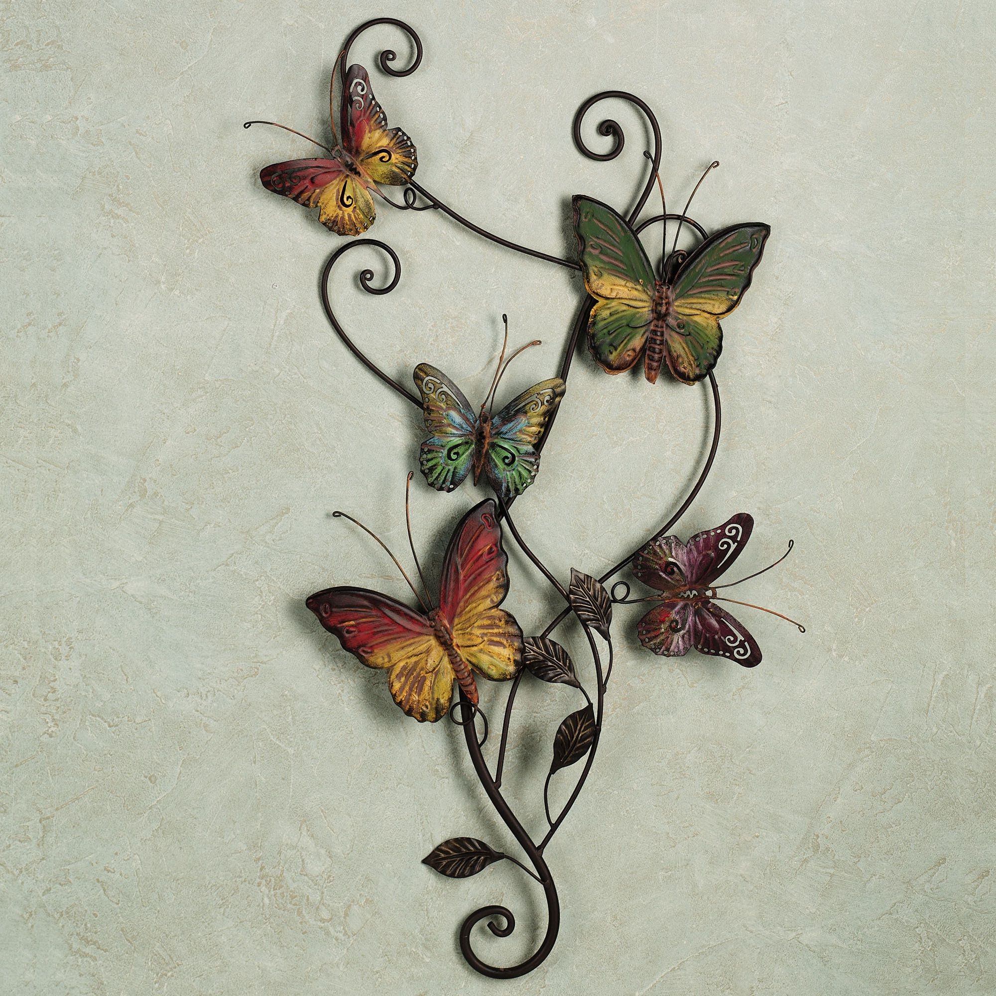 Metal Butterfly Wall (View 15 of 20)