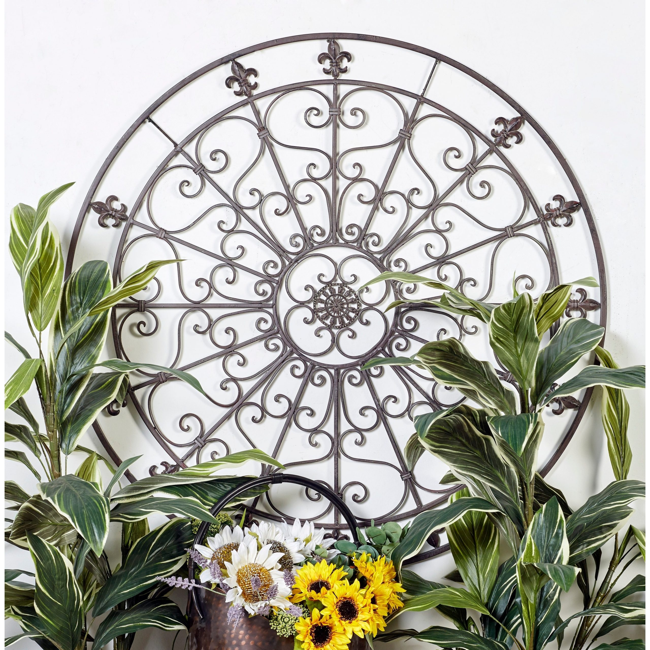 Featured Photo of Metal Capiz Wall Decor By Wrought Studio