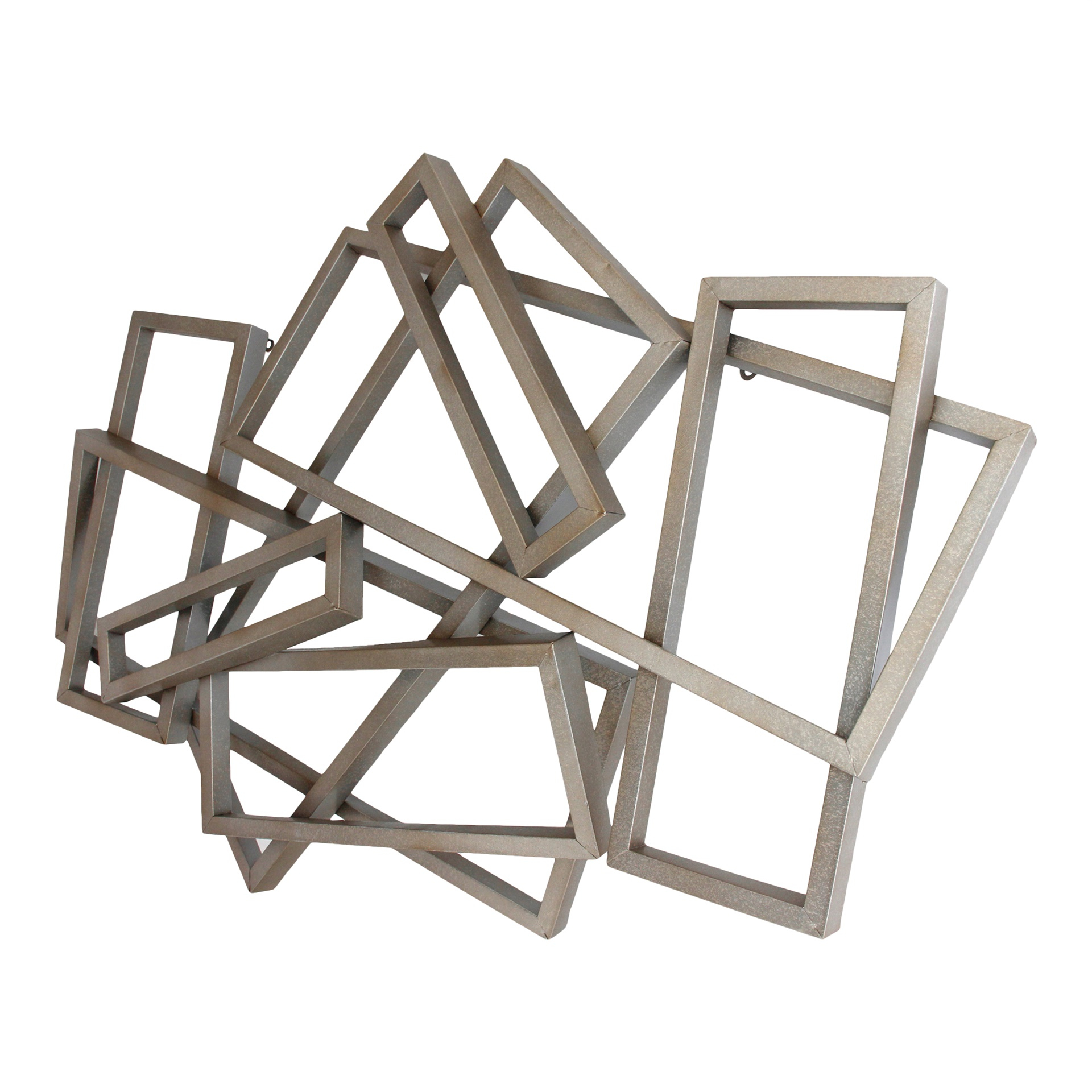 Metal Rectangular Wall Decor In Best And Newest Rectangular Metal Wall Décor (View 6 of 20)