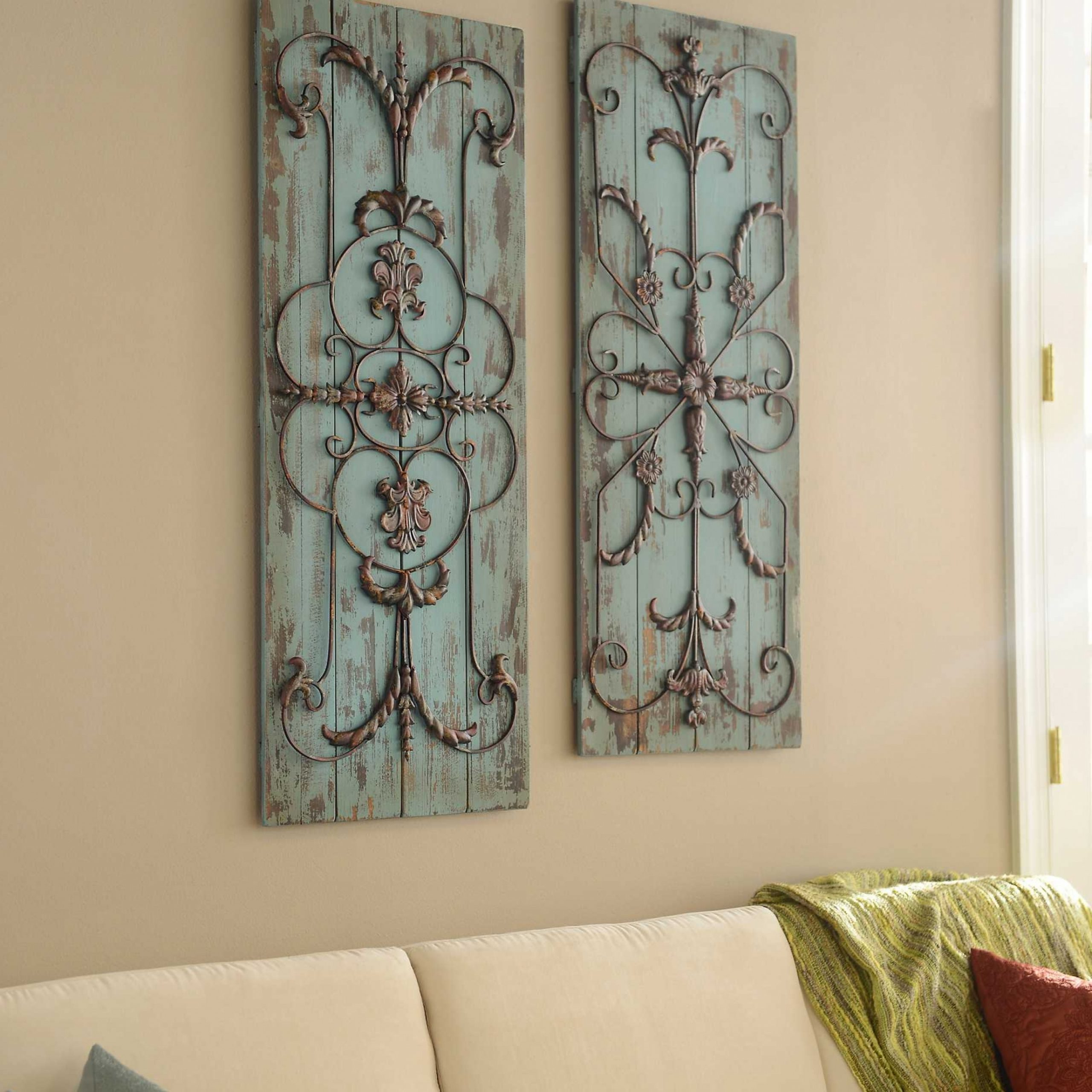 Metal Scroll Wall Decor – Ideas On Foter Pertaining To Fashionable Scroll Wall Décor By Fleur De Lis Living (View 8 of 20)