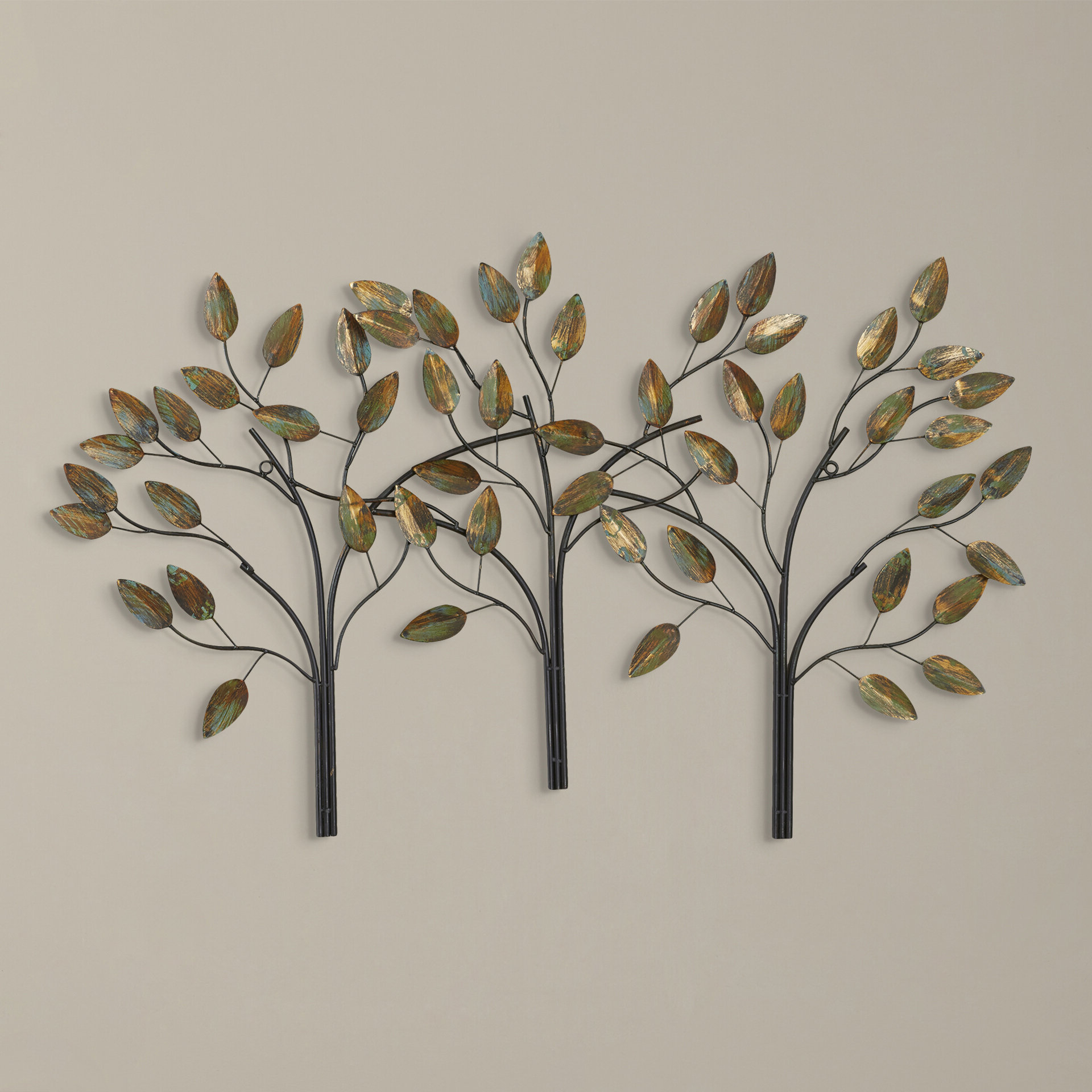 Metal Wall Décor By Charlton Home Pertaining To Preferred Wall Decorations Ideas: Wall Decor Leaf (View 13 of 20)