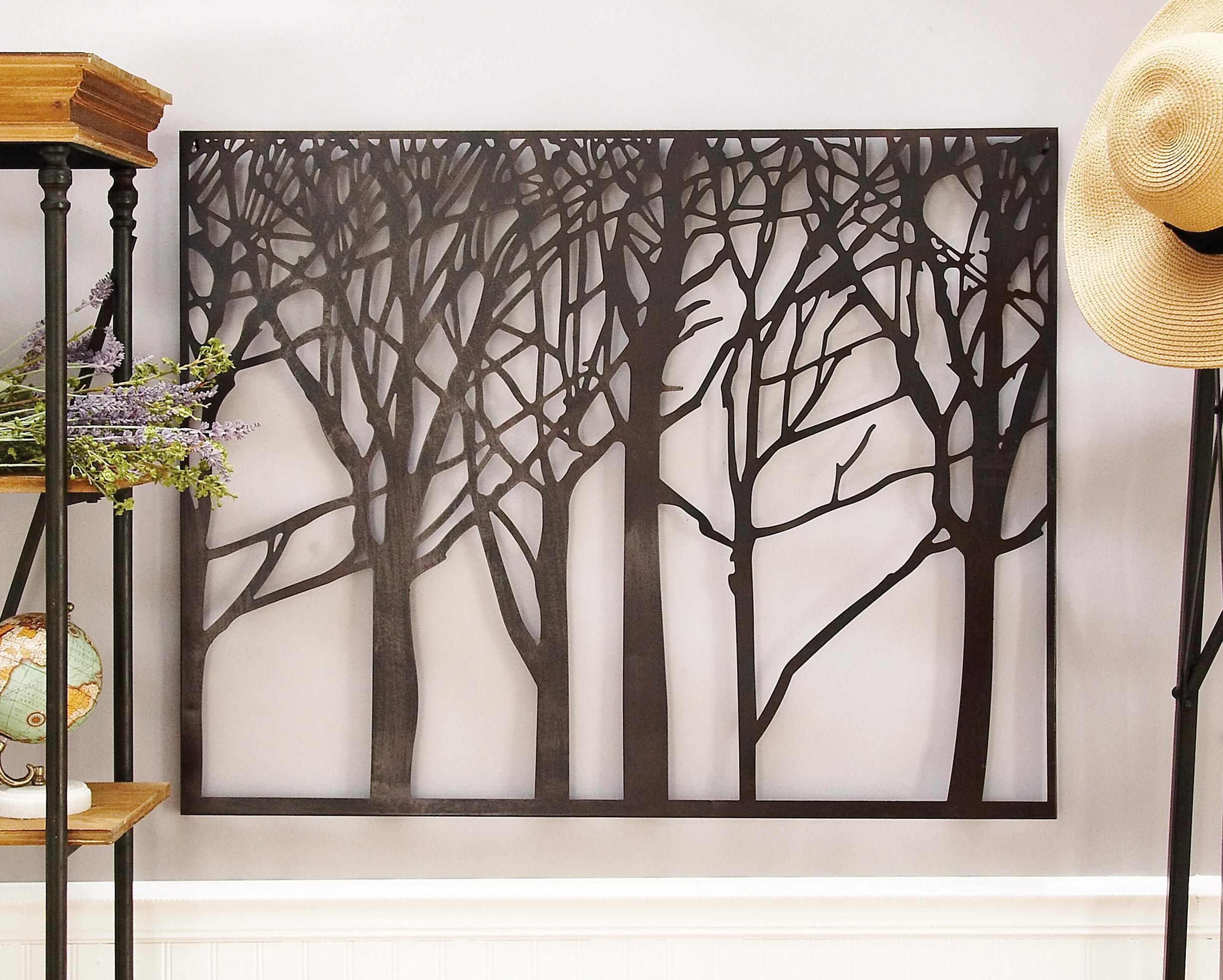 Metal Wall Décor Throughout Latest Rectangular Metal Wall Décor (View 13 of 20)