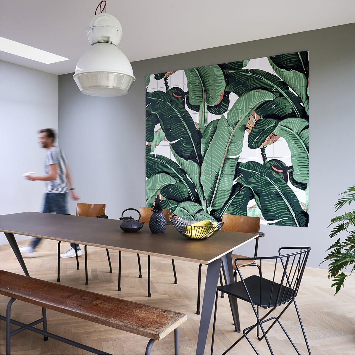 Most Current Banana Leaf Wall Art Panels Within Blended Fabric Leaf Wall Hangings (View 13 of 20)
