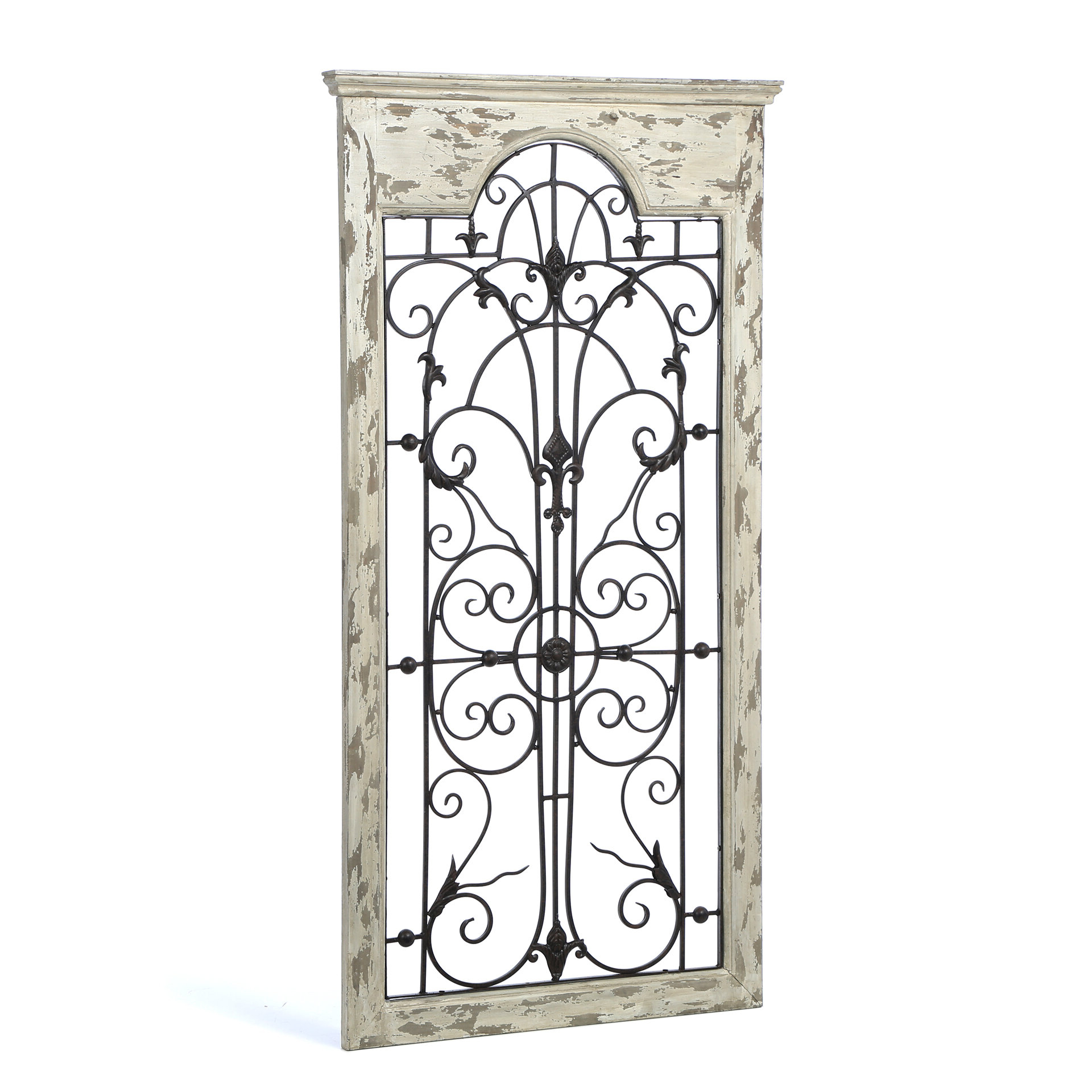 Most Current Gate White Wood And Metal Wall Décor With Regard To Arch Wall Décor By One Allium Way (View 9 of 20)