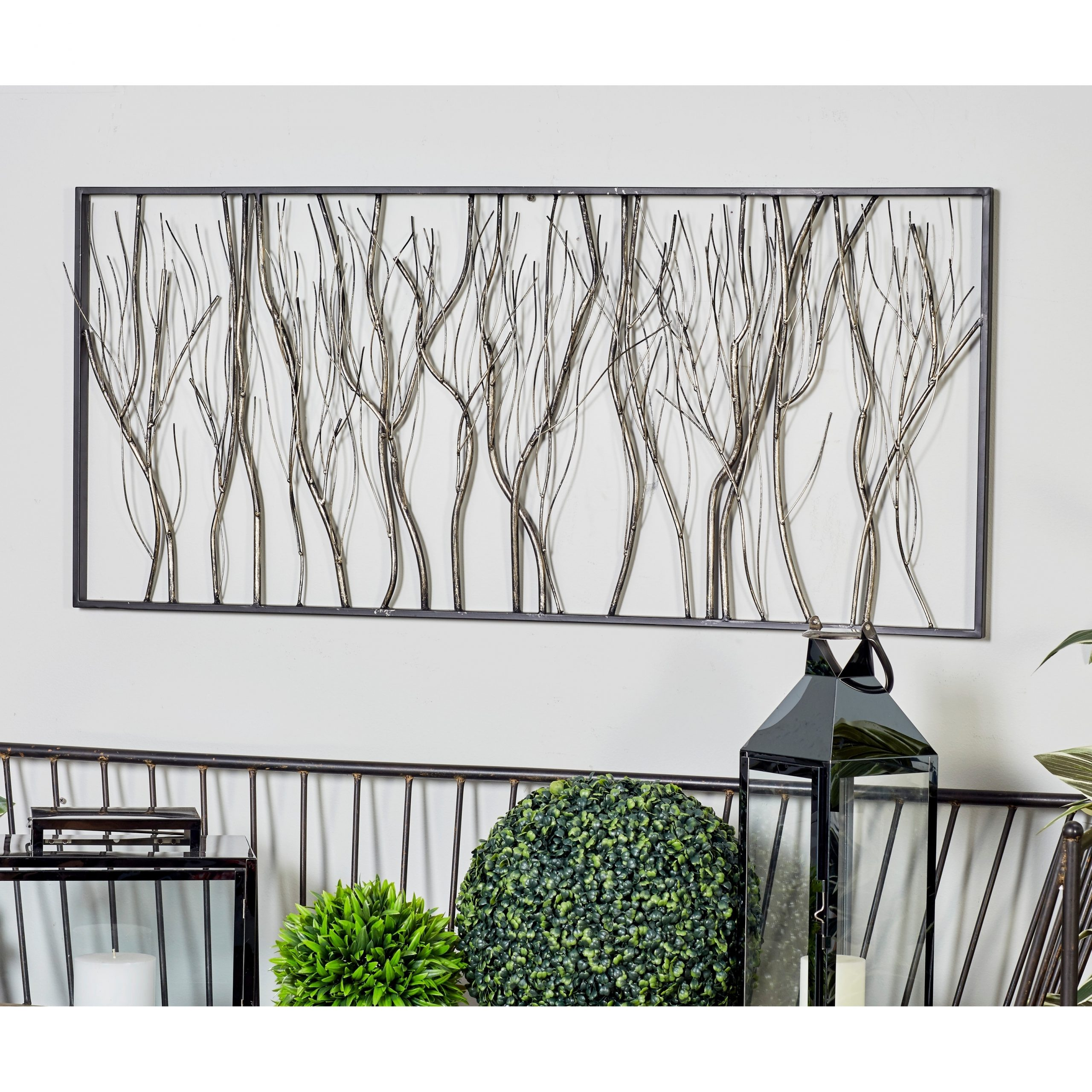 Most Popular 2 Piece Starburst Wall Décor Set By Wrought Studio Pertaining To Natural 22 X 48 Inch Iron Twigs And Branches Wall Decorstudio (View 12 of 20)