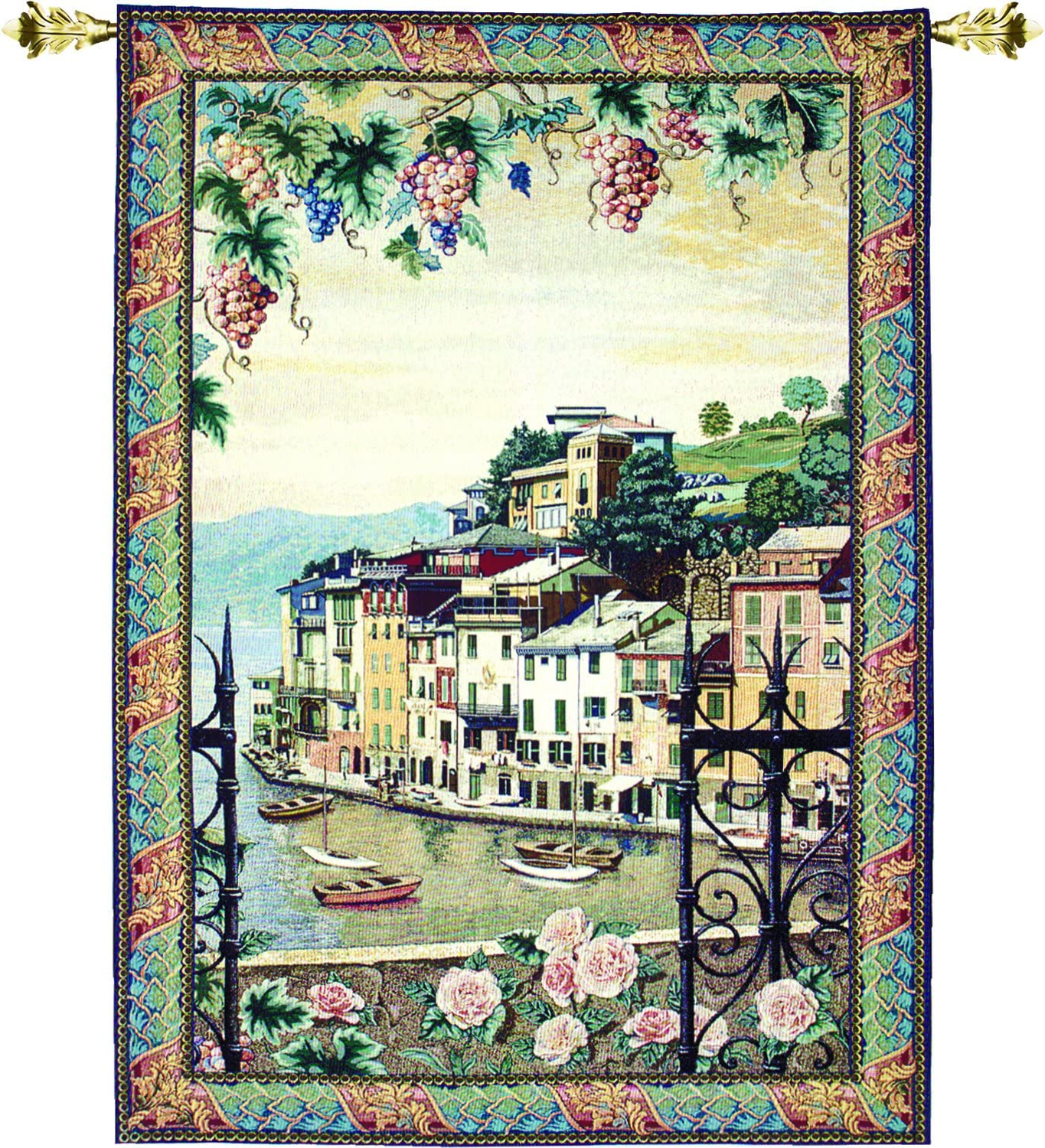 Most Popular Blended Fabric Living Life Bell Pull Wall Hangings With Regard To Amazon: Manual Woodworkers & Weavers Grande Tapestry (View 7 of 20)