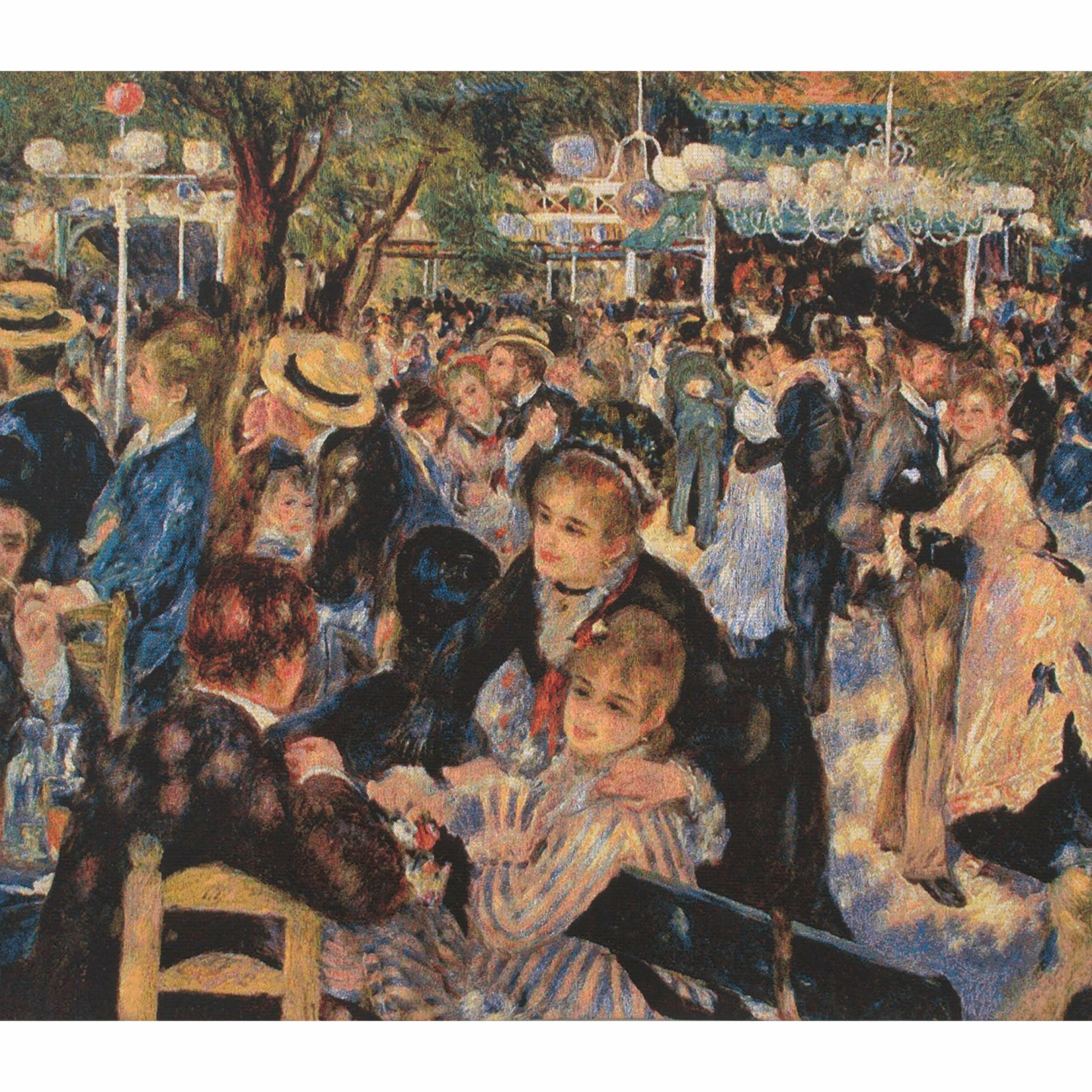 Most Recent Bal Au Moulin De La Galetterenoir Tapestry Inside Blended Fabric Gallanteries European Wall Hangings (View 13 of 20)