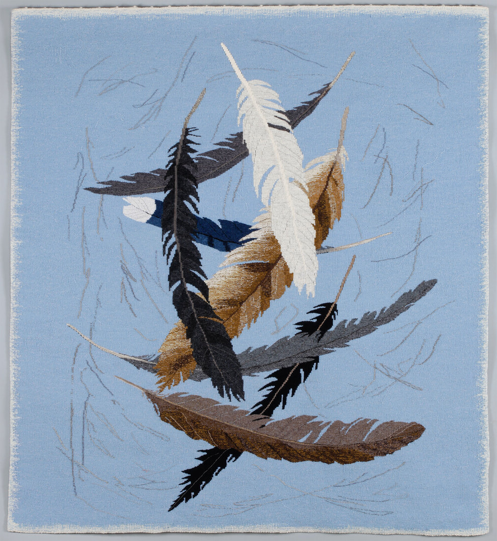 Most Recent Birds Face To Face I European Tapestries In The Artist's Path Blog — Elizabeth Buckley Tapestry Artist (View 18 of 20)