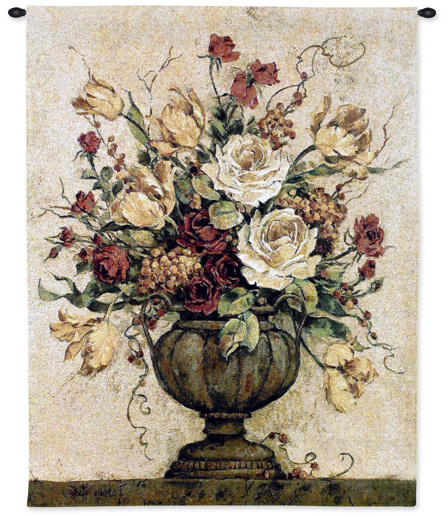 Most Recent Blended Fabric Gallanteries European Wall Hangings Regarding Astoria Grand Reflections Ii Tapestry & Reviews (View 4 of 20)