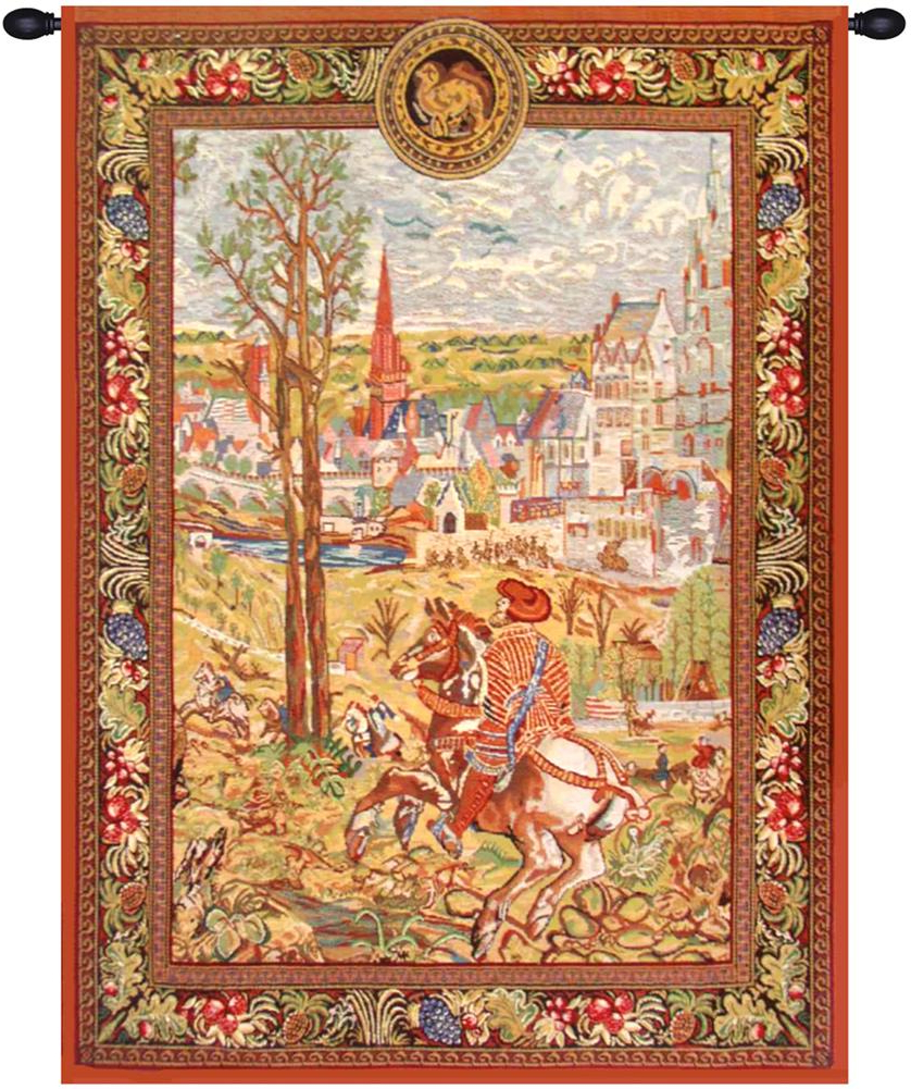 """Most Recent Blended Fabric Vieux Brussels Wall Hangings In """"vieux Brussels (left Side) Tapestry Wholesale B – H 29 X W 21 Wall Tapestry"""" – Walmart (View 7 of 20)"""