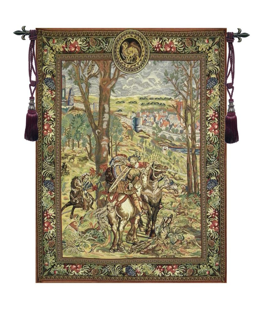 Most Recent Blended Fabric Vieux Brussels Wall Hangings Regarding Vieux Brussels (right Side) Tapestry Wholesale A – H 39 X W 33 Wall Tapestry – Walmart (View 3 of 20)