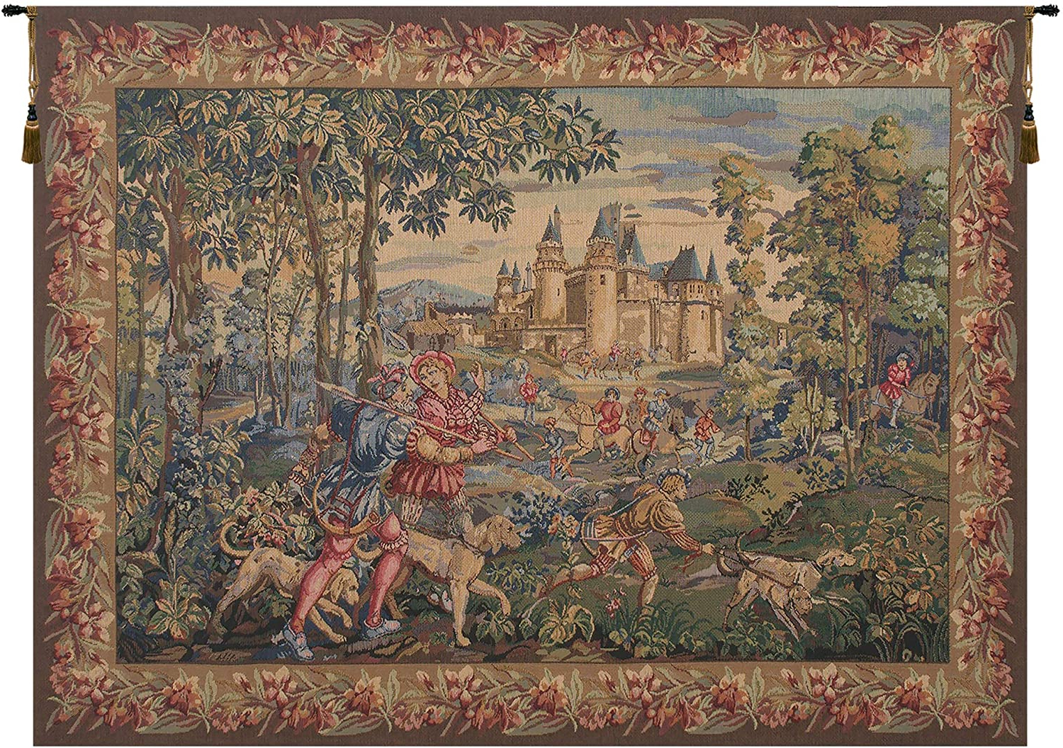 Most Recent Blended Fabric Vieux Brussels Wall Hangings With Regard To Amazon: Charlotte Home Furnishings Inc (View 5 of 20)