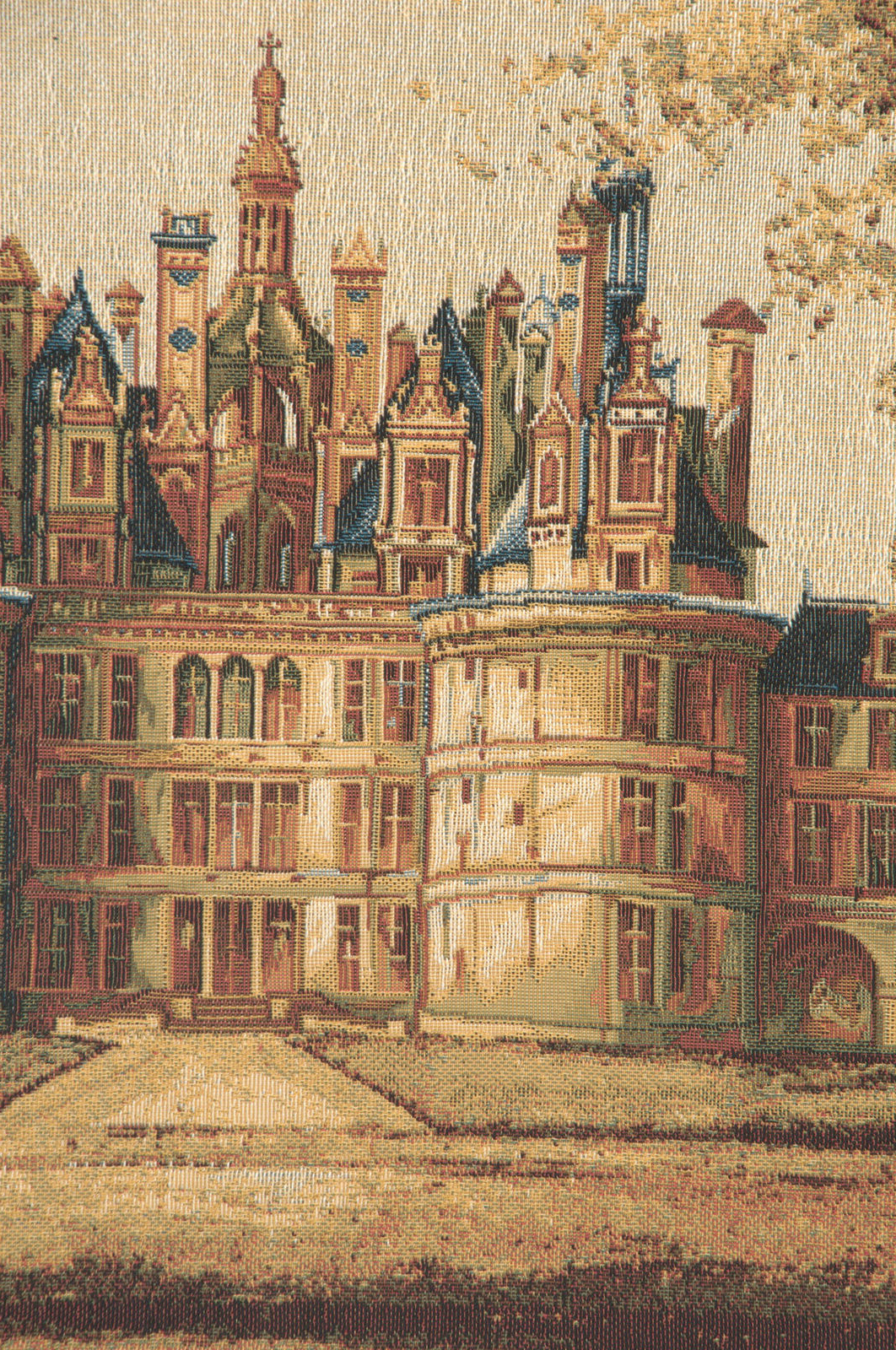 Most Recent Chambord Castle I European Tapestry Wall Hanging Within Chambord Castle I European Wall Hangings (View 6 of 20)