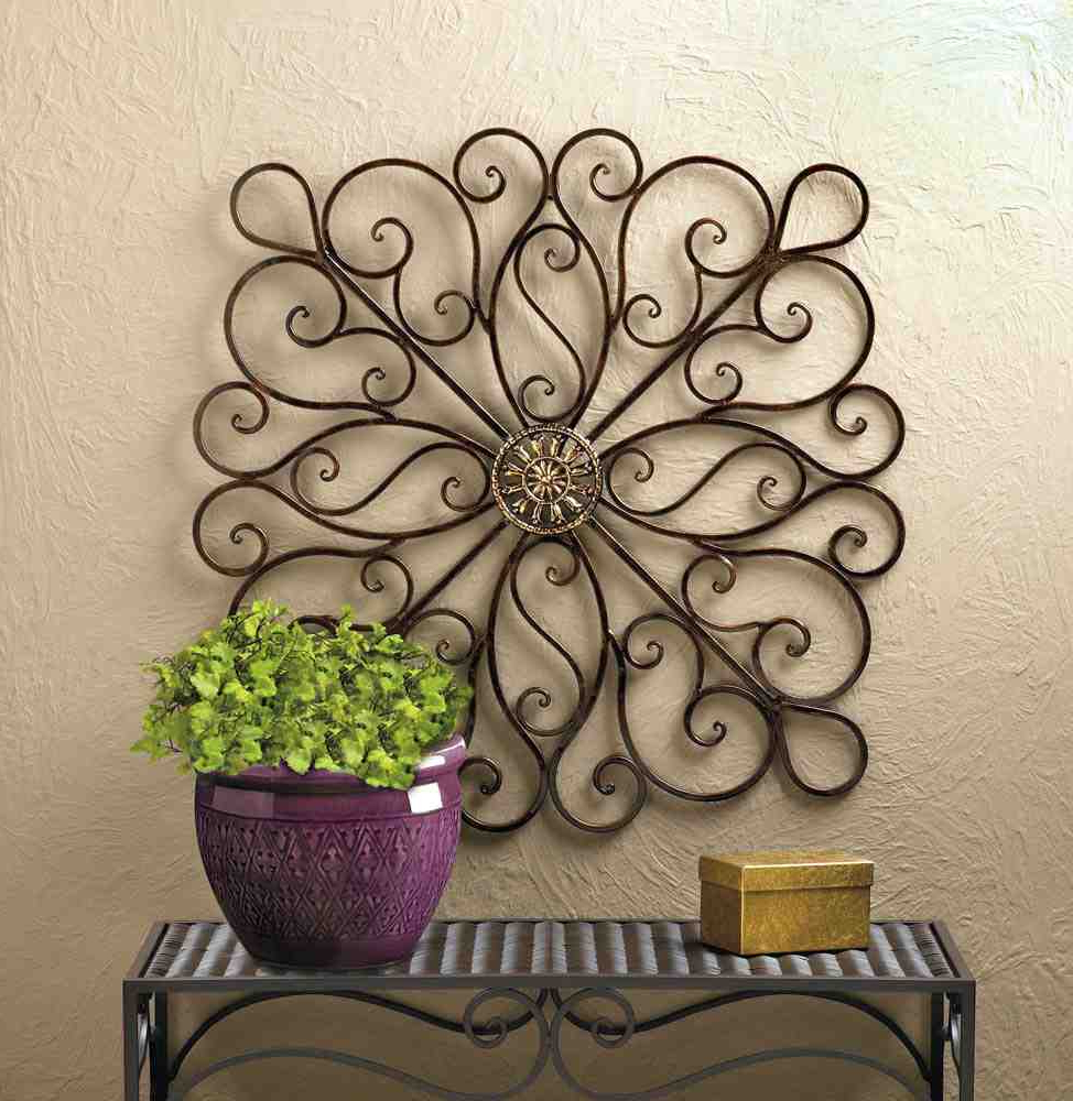 Most Recent Family Themed Creative Metal Wall Décor Within 15 Beautiful Ways Of Using Iron Wall Decor At Home (View 10 of 20)