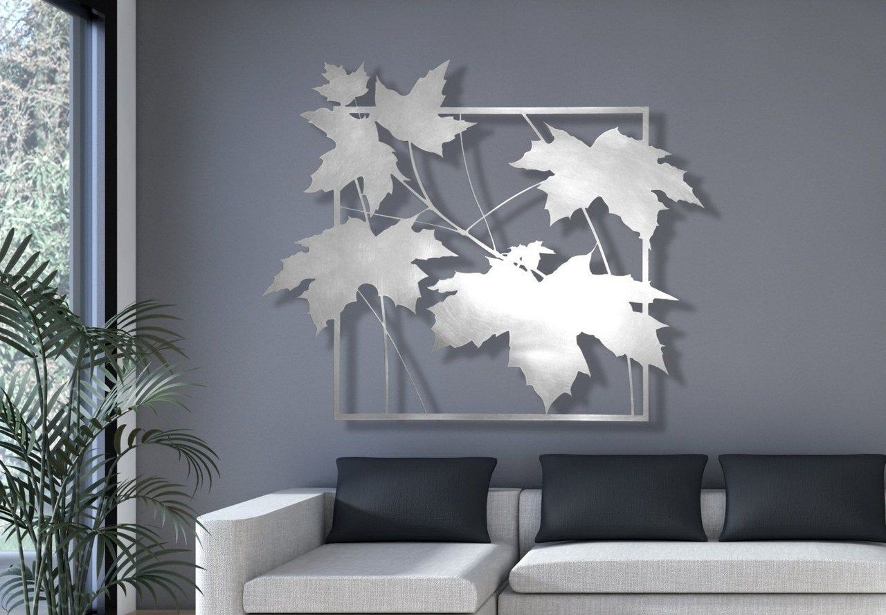Most Recent Pin On Vector Design In Aluminum Maple Leaf Wall Decor (View 15 of 20)