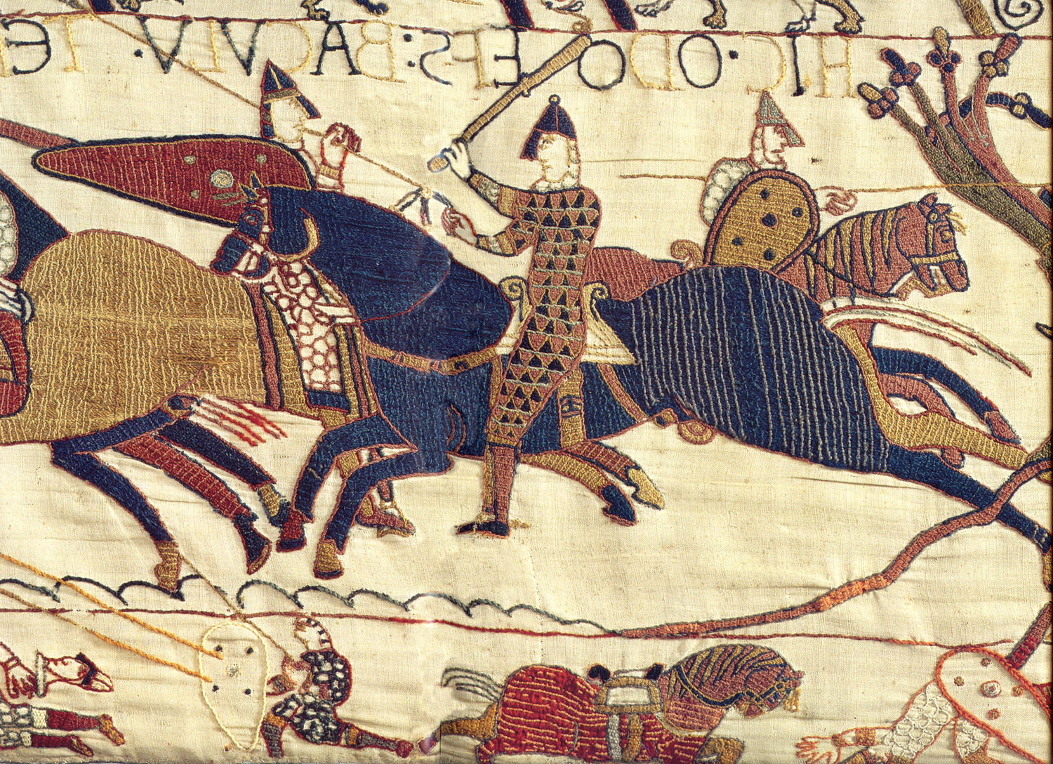 Most Recently Released Bayeux Tapestry – Wikipedia With Regard To Birds Face To Face I European Tapestries (View 5 of 20)