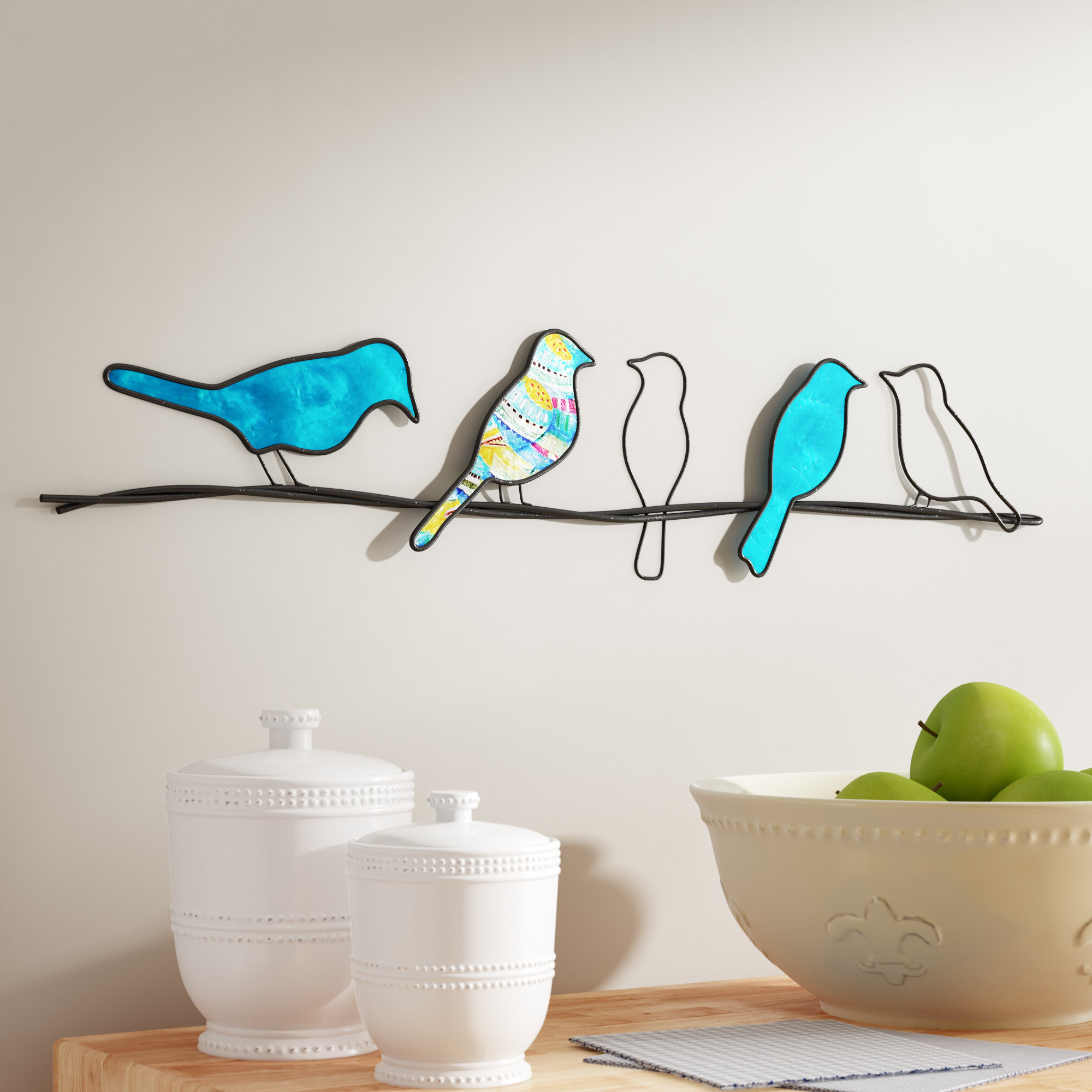 Featured Photo of Birds On A Wire Wall Décor By Winston Porter