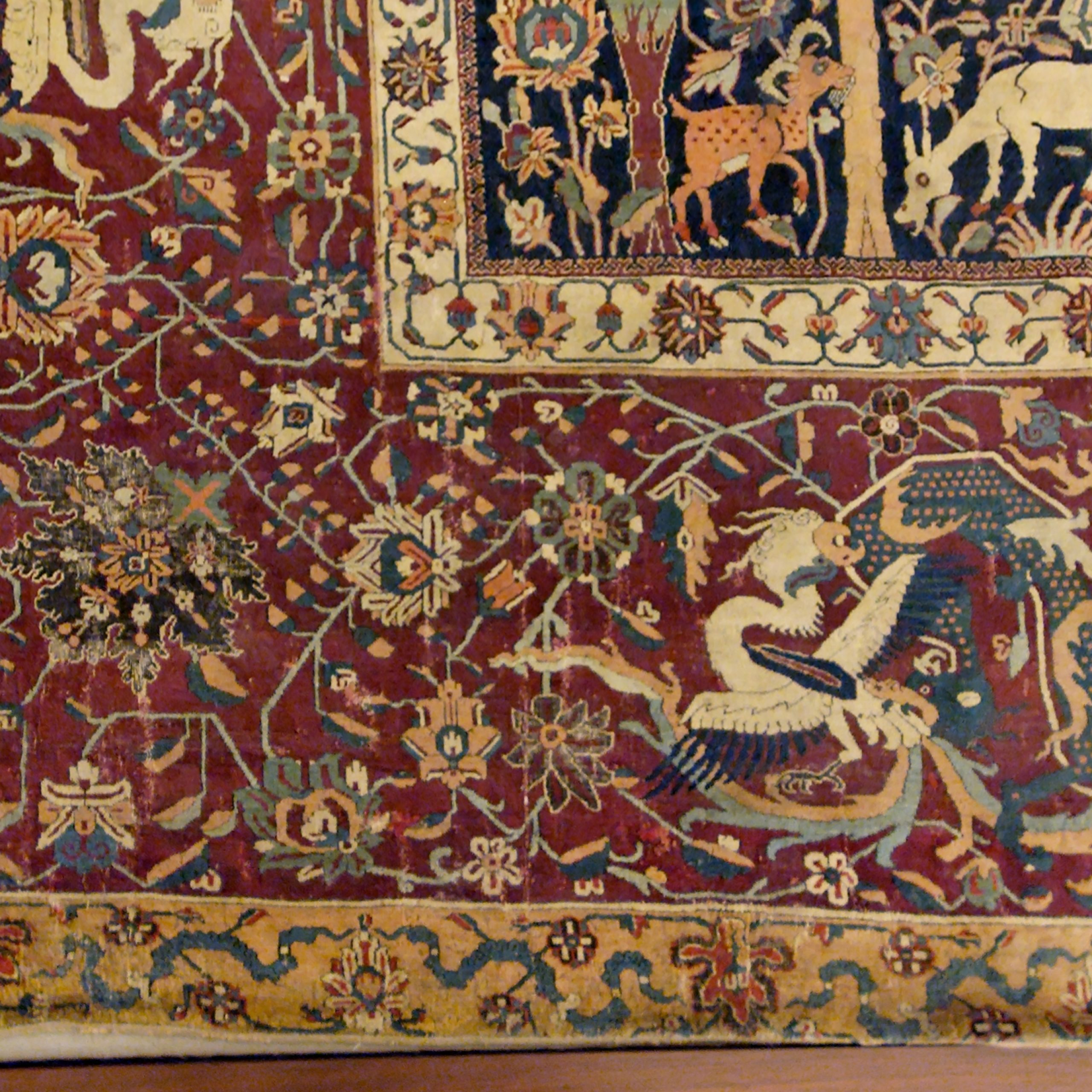 Most Recently Released Blended Fabric European Five English Horses Tapestries Inside Persian Carpet – Wikipedia (View 10 of 20)