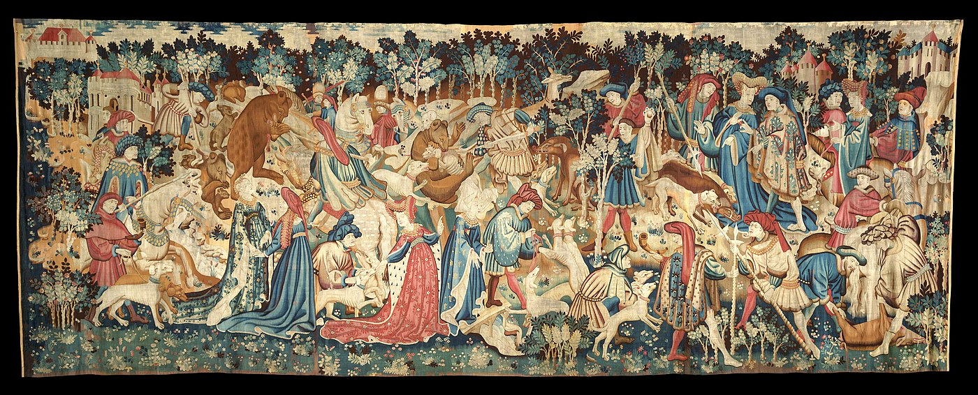 Most Recently Released Blended Fabric Verdure Au Chateau Ii European Tapestries Within Tapestry – Wikiwand (View 8 of 20)