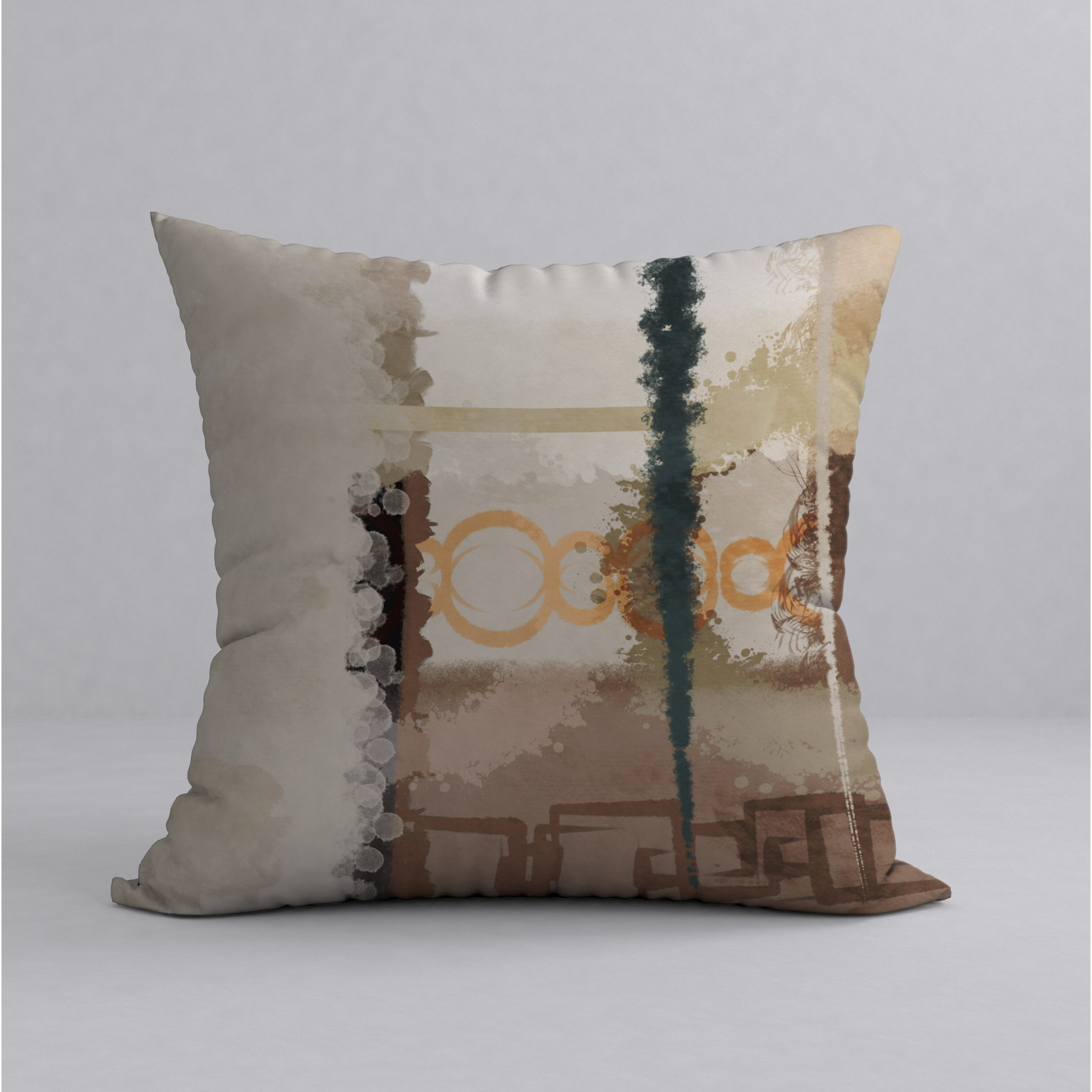 Most Recently Released Connoisseur Graceful Square Pillow Cover & Insert With Regard To Graceful Wall Décor By Orren Ellis (View 15 of 20)