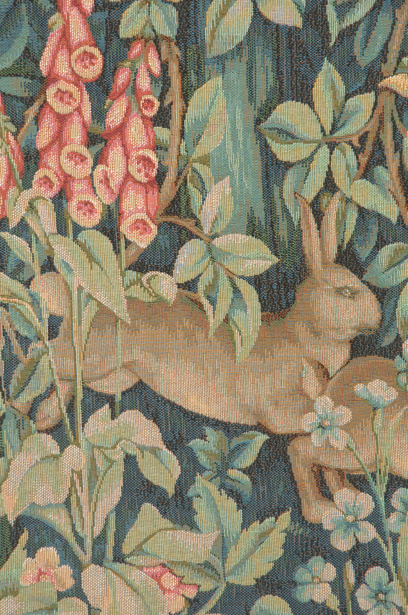 Most Recently Released Rabbit, Pheasant, And Doe European Tapestry Wall Hanging For Blended Fabric Pheasant And Doe European Tapestries Wall Hangings (View 2 of 20)