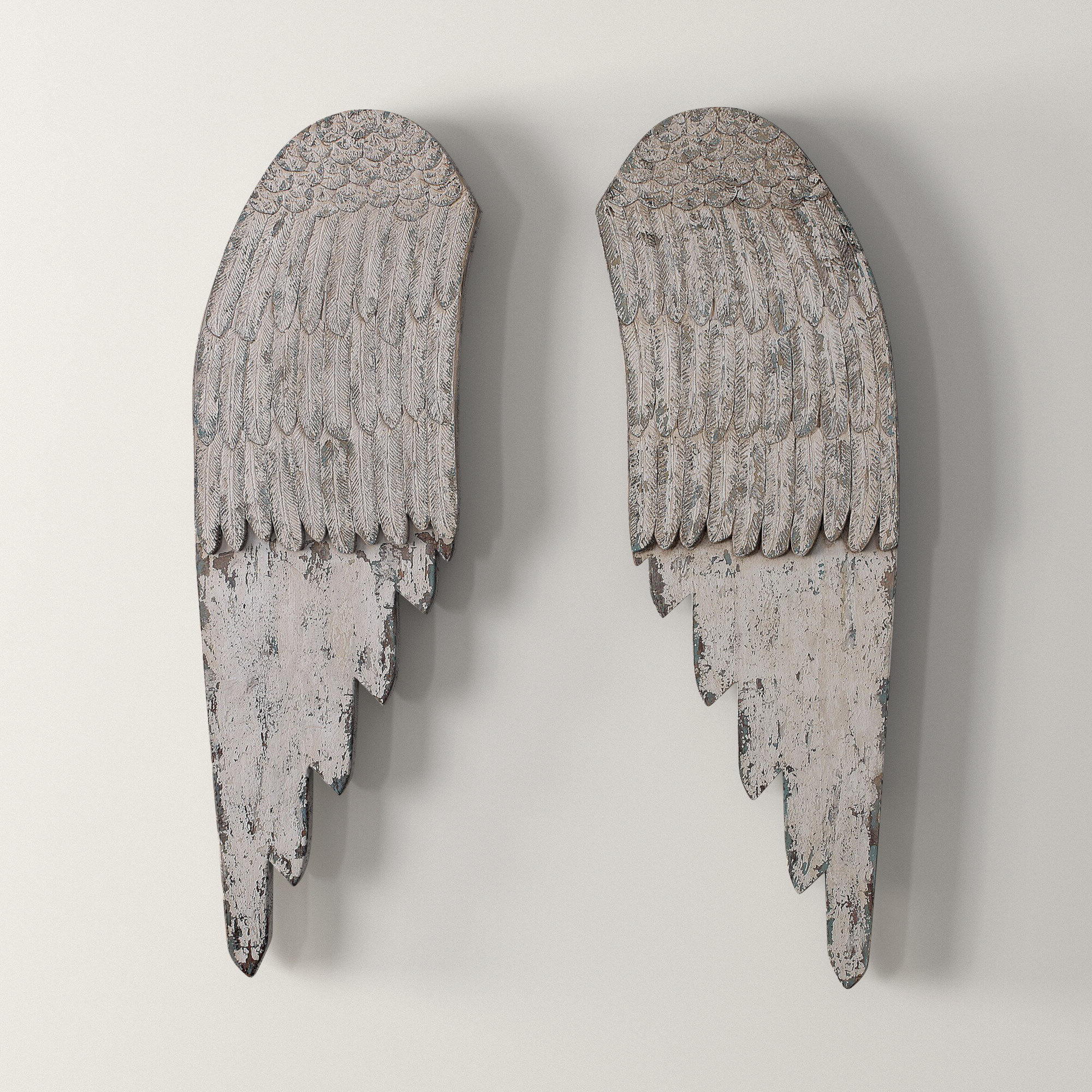 Most Recently Released Wing Wall Décor By One Allium Way With Regard To Angel Wing Wall Décor (View 17 of 20)