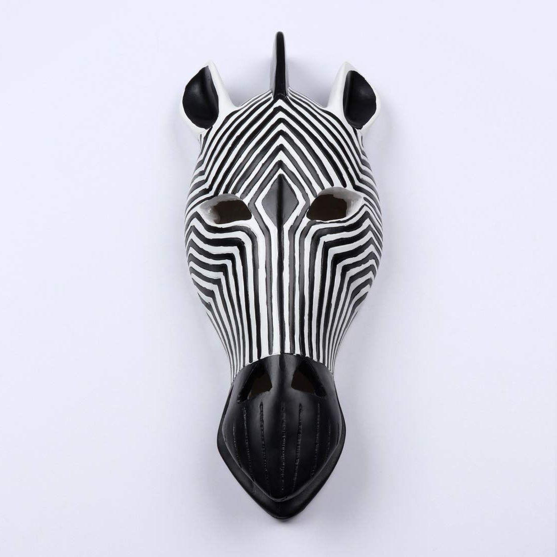 Most Up To Date Animal Mask Of The Savannah Zebra Wall Décor Throughout Comlzd African Tribal Zebra Head Mask Savannah Wall Plaque (View 6 of 20)