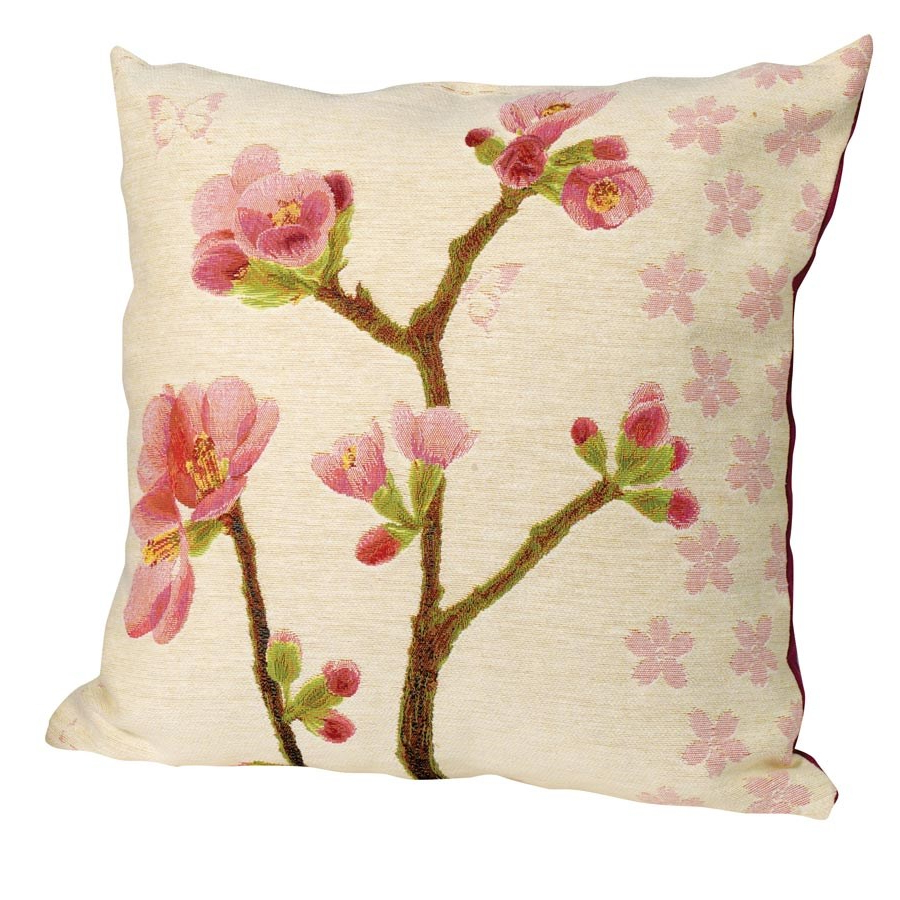 Most Up To Date Apple Blossom Pillow, Small Flowers Intended For Blended Fabric Spring Blossom Tapestries (View 19 of 20)