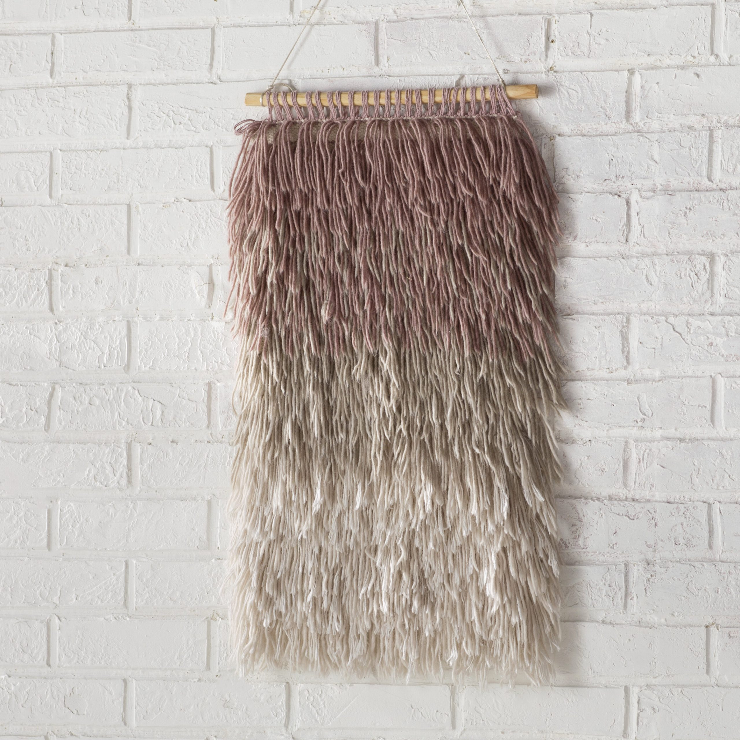 Most Up To Date Blended Fabric Saiful Wall Hangings With Rod Throughout Destrie Wall Hanging With Rod Included (View 6 of 20)