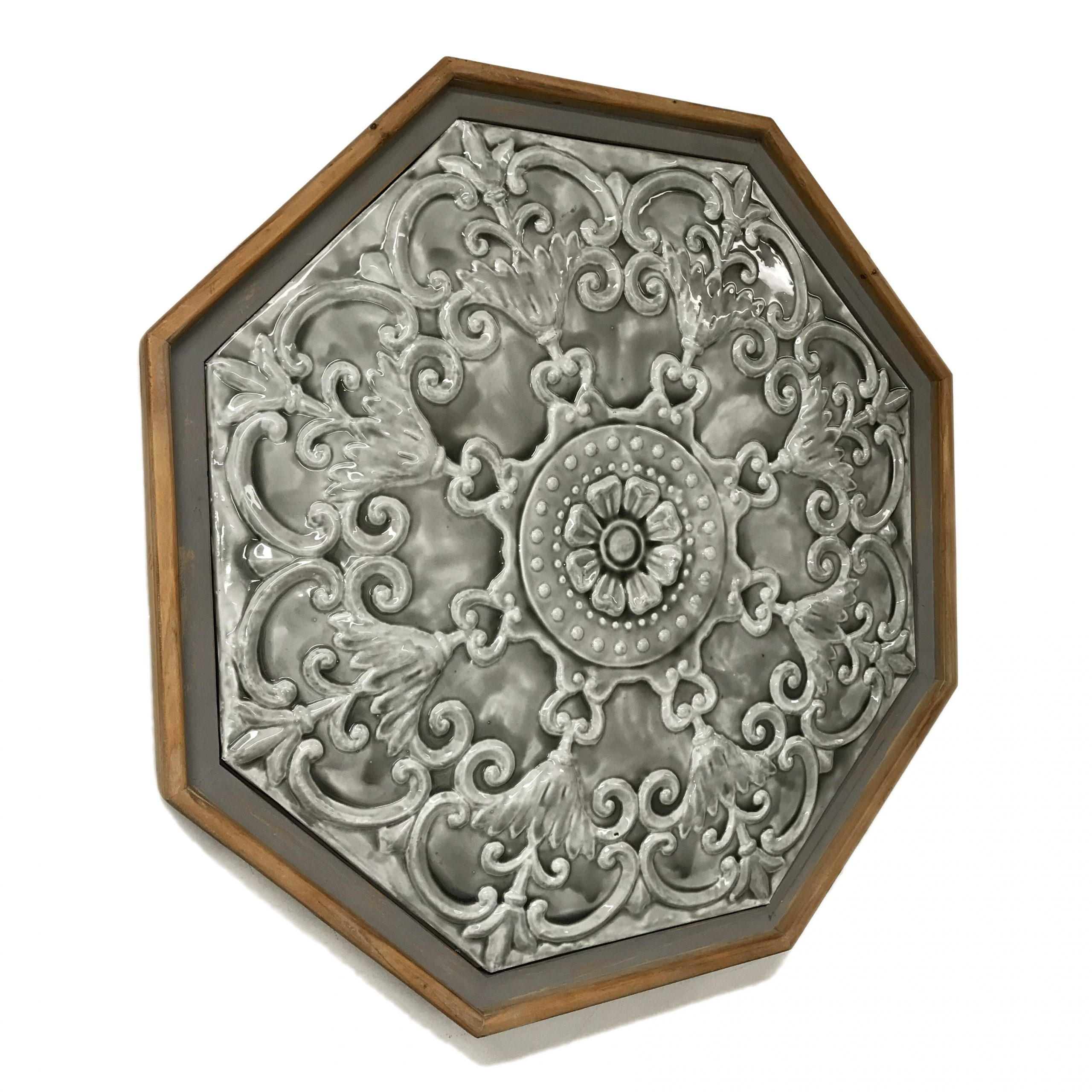 Most Up To Date European Medallion Wall Décor Throughout Octagonal Metal Medallion Wall Decor (View 9 of 20)