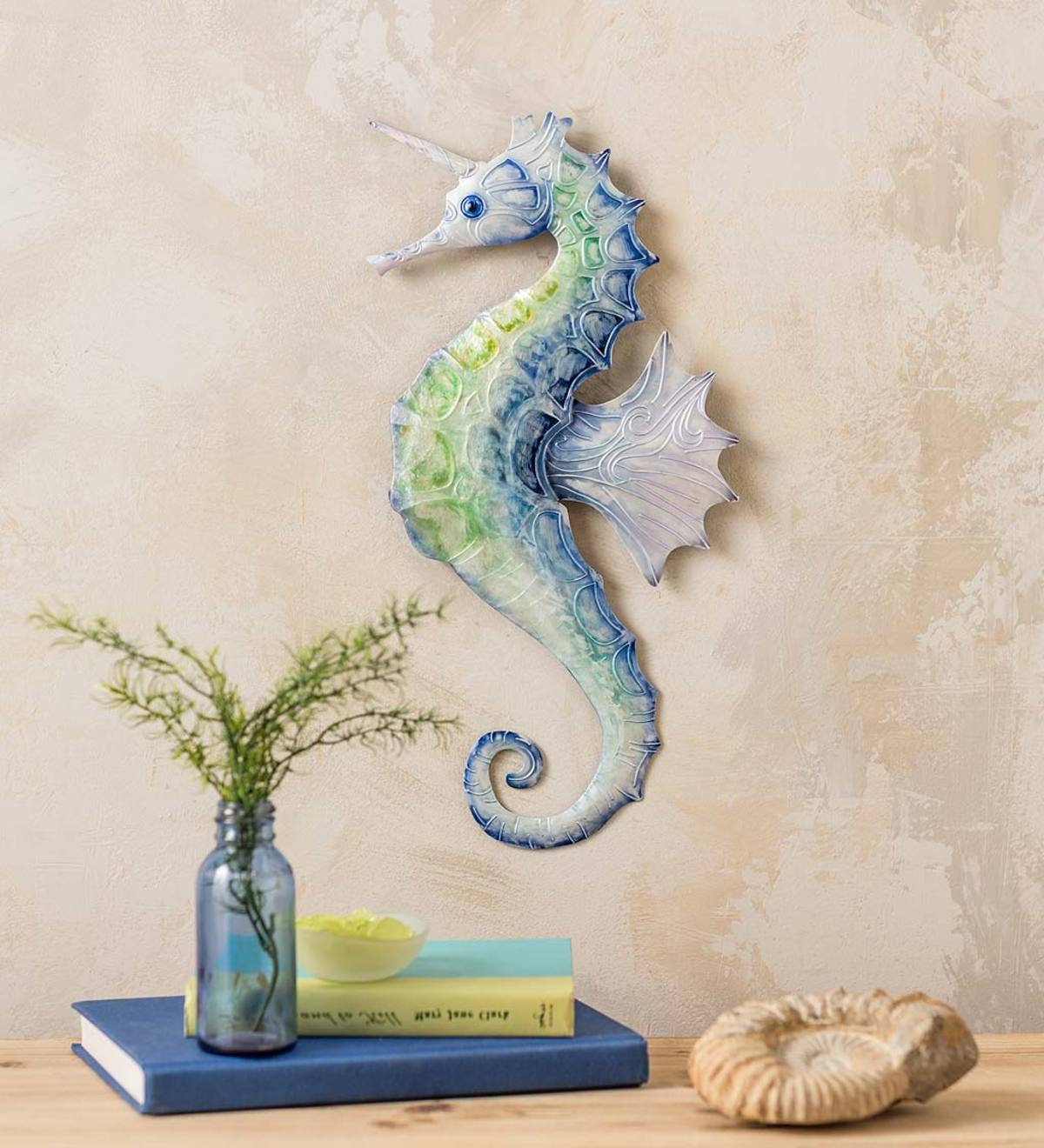 Most Up To Date Metal And Capiz Sea Unicorn Wall Art With Regard To Maria Metal Capiz Wall Décor (View 10 of 20)