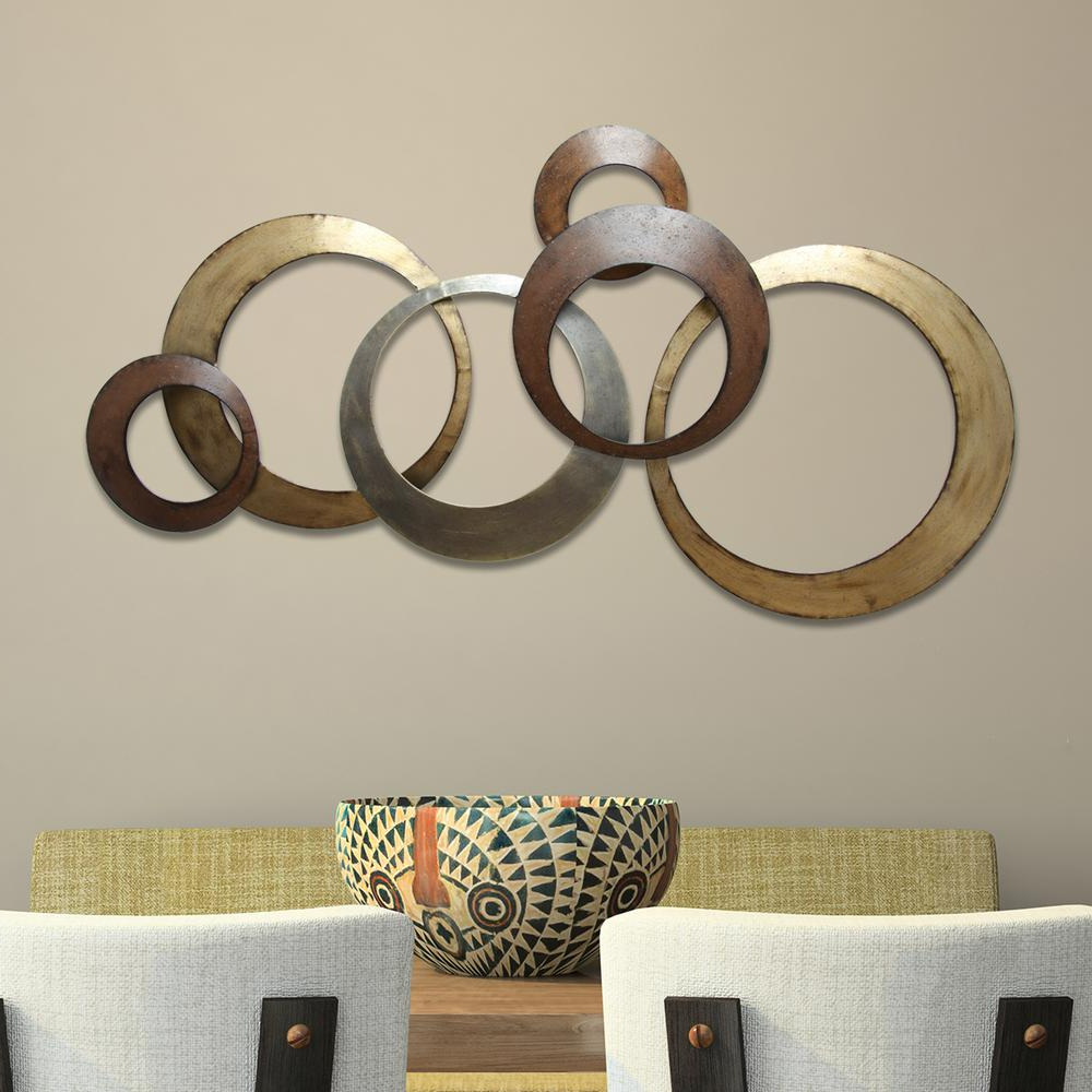 Featured Photo of Rings Wall Décor By Stratton Home Decor