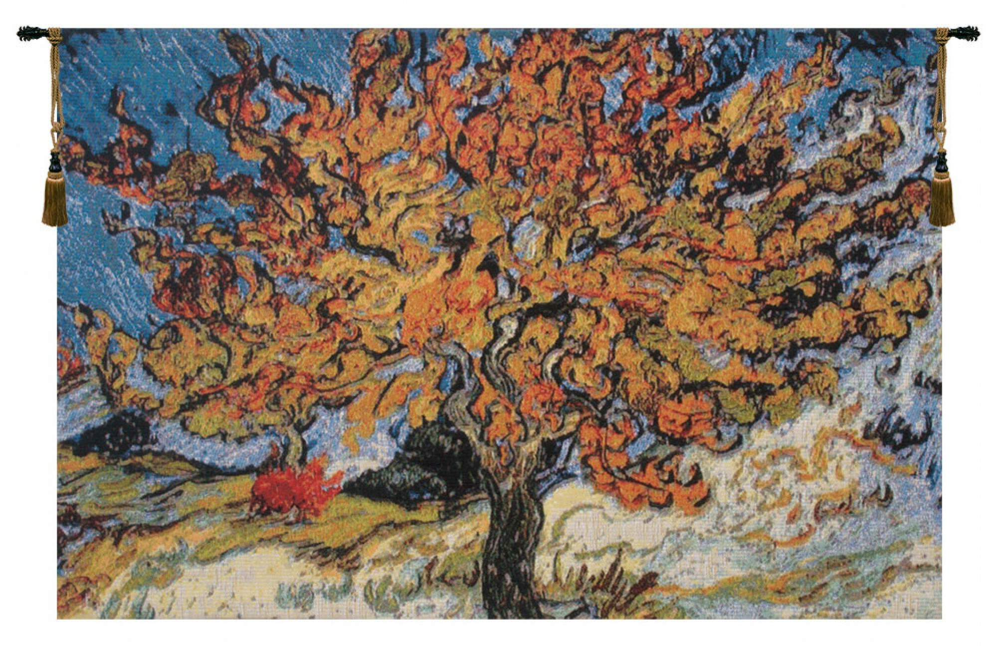 Featured Photo of Blended Fabric The Mulberry Tree Van Gogh Wall Hangings