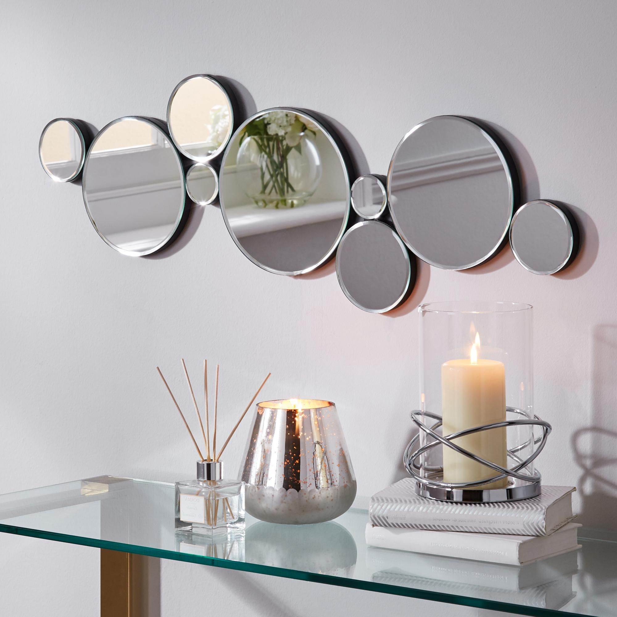 Multi Circles Wall Décor Regarding Best And Newest Multi Circles Mirror (View 13 of 20)