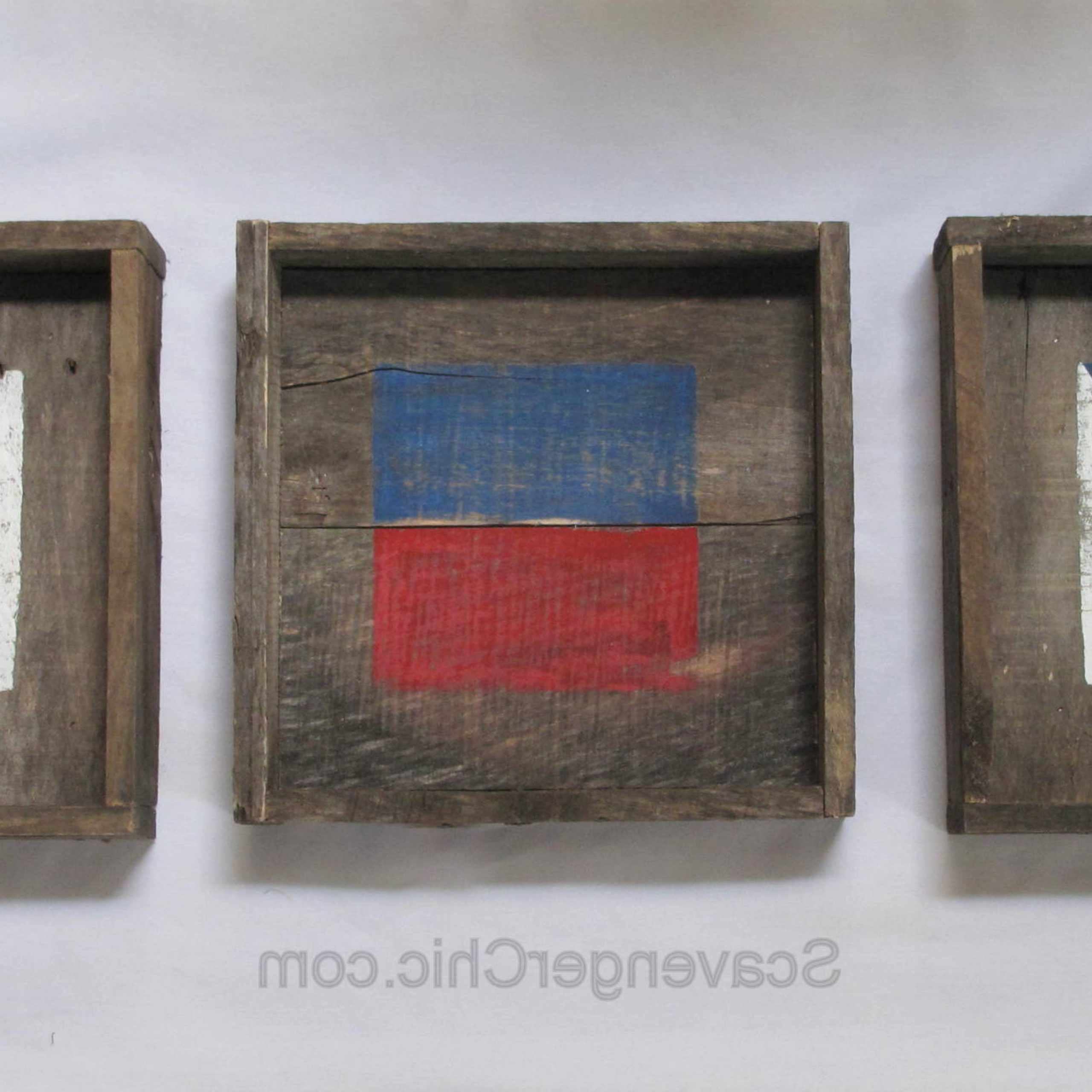 Nautical Pallet Wood – Scavenger Chic With Regard To Newest Letter Wooden Nautical Alphabet Flag Wall Décor (View 7 of 20)
