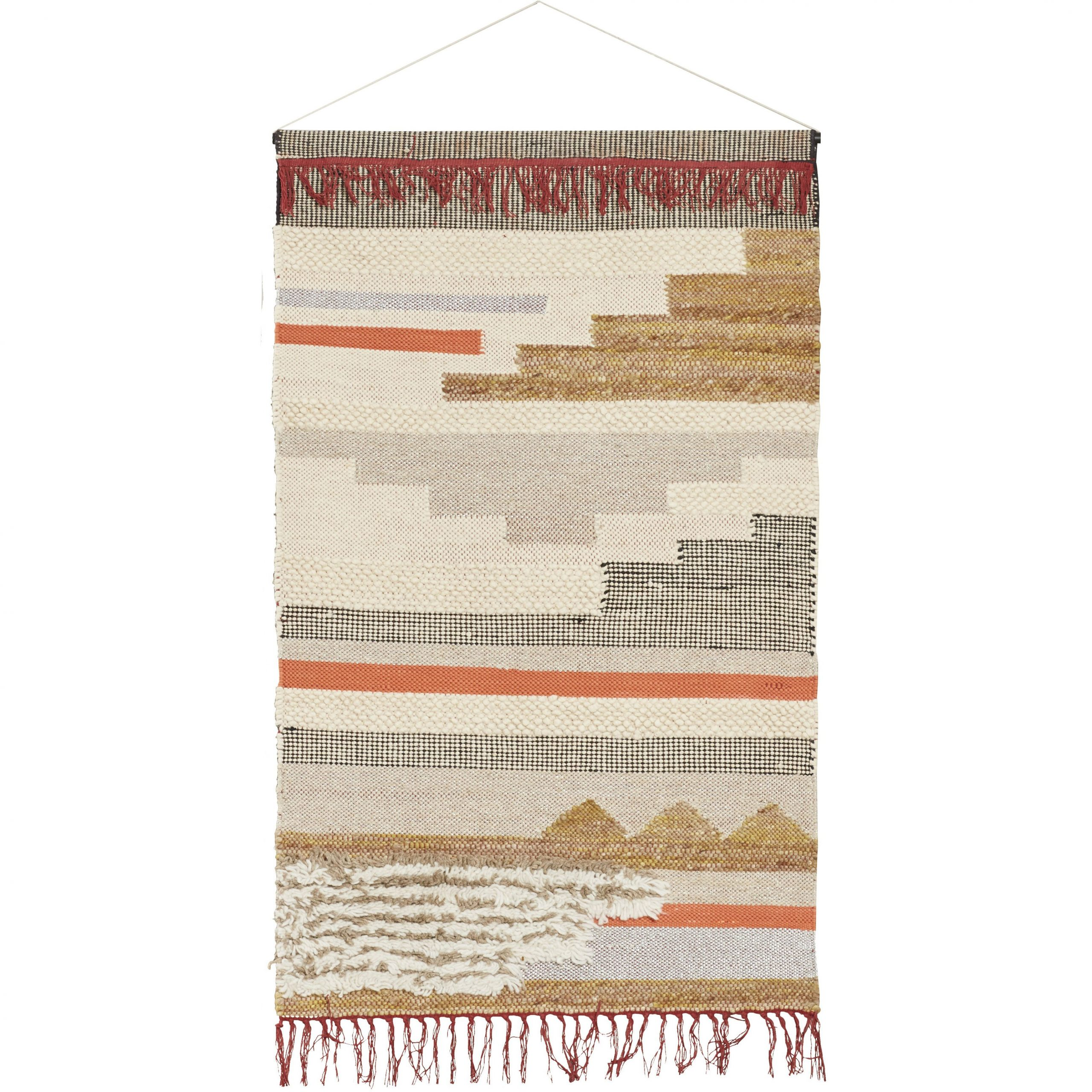 Newest Blended Fabric Wall Hanging With Hanging Accessories Inside Blended Fabric In His Tapestries And Wall Hangings (View 2 of 20)
