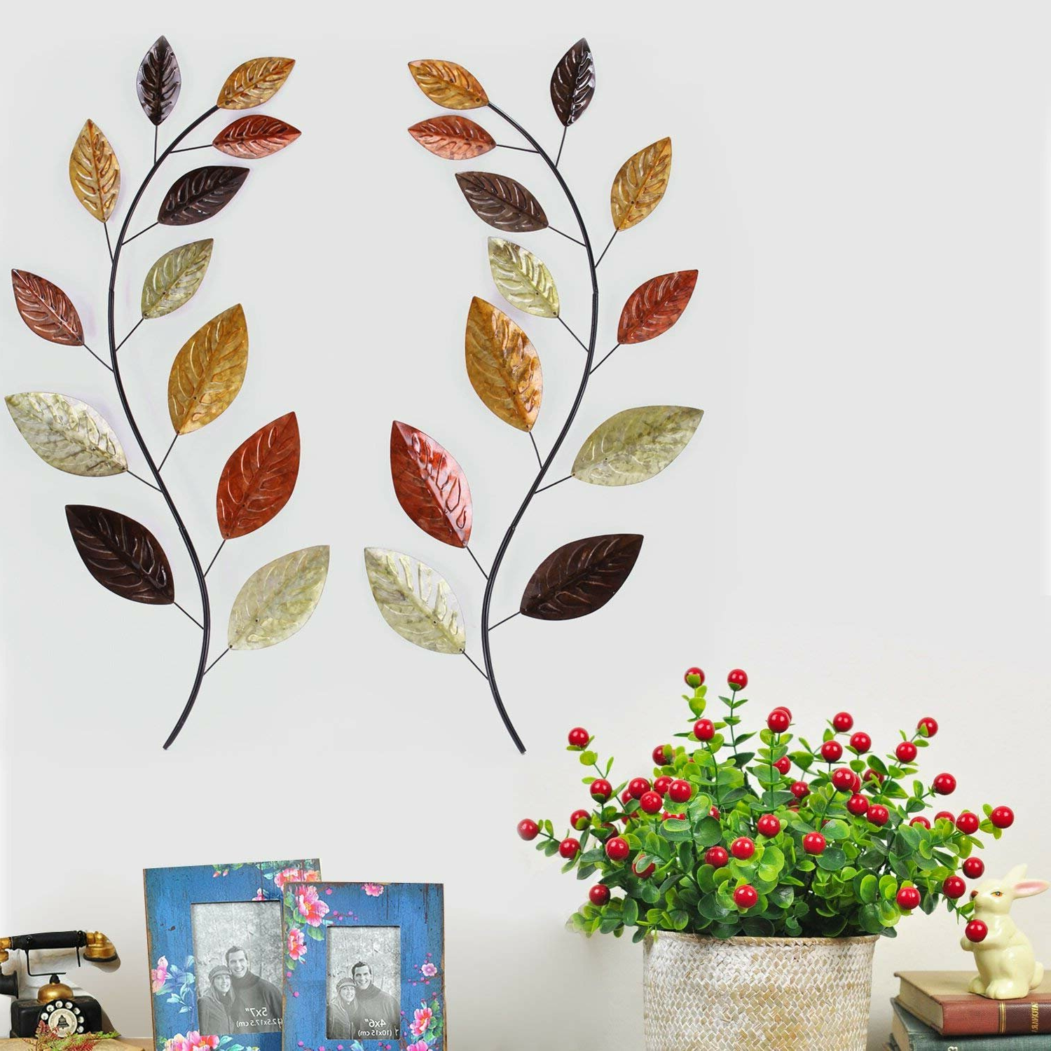 Newest Branches And Leaves 3 Wall Decor Regarding Abstract Tree Wall Décor By Winston Porter (View 6 of 20)