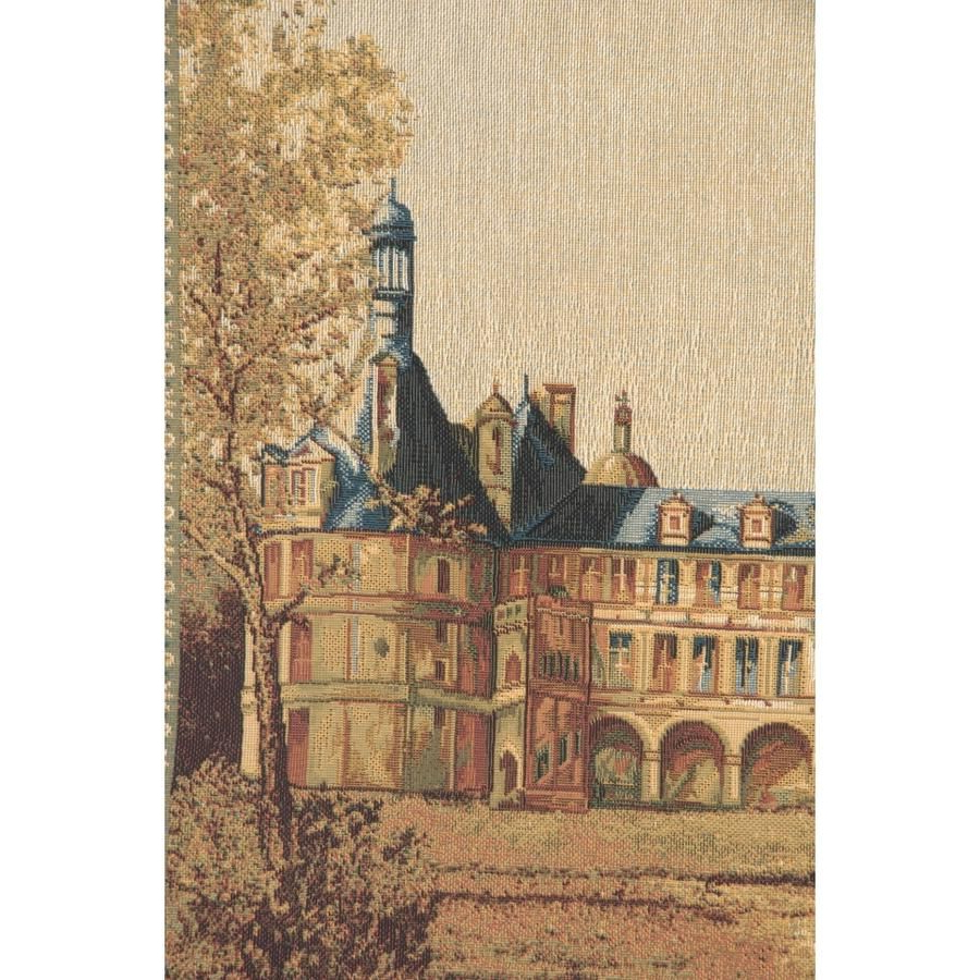 Newest Chambord Castle I European Wall Hanging Tapestry (View 2 of 20)