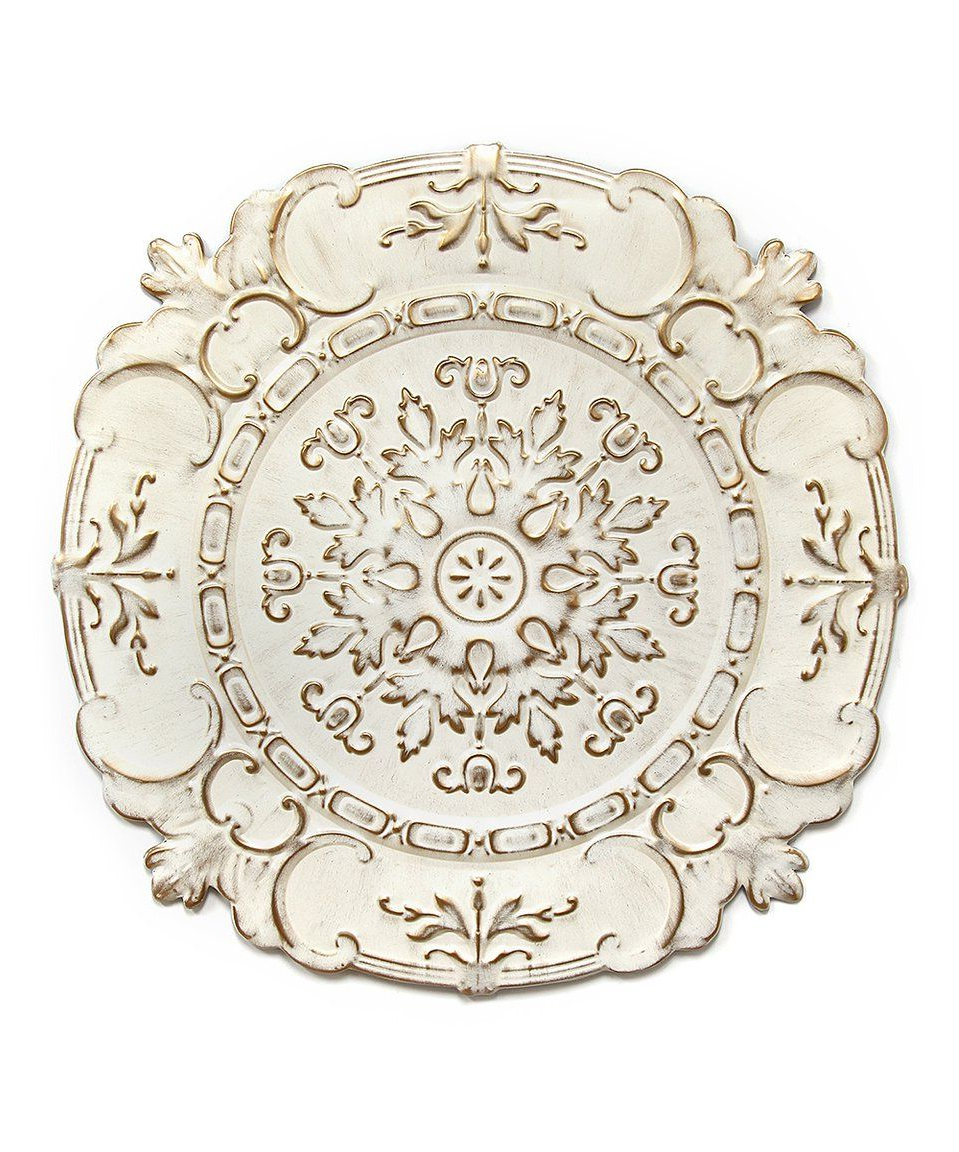 Newest European Medallion Wall Décor Throughout Take A Look At This White European Medallion Wall Art Today (View 4 of 20)