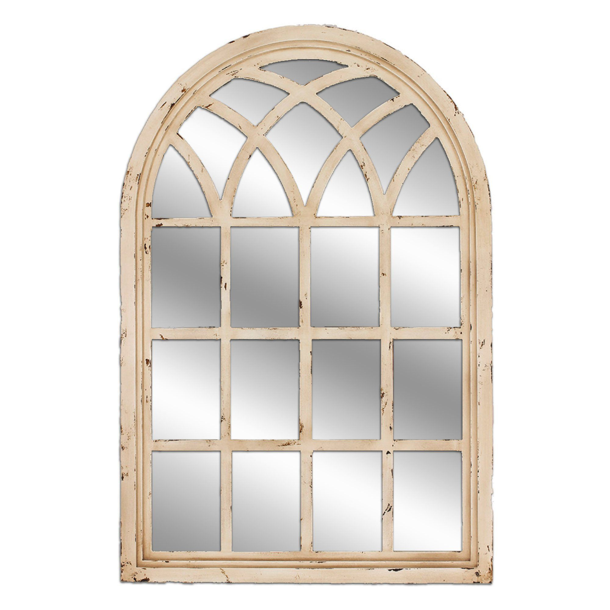 One Allium Way® Cathedral Wall Mirror (View 15 of 20)