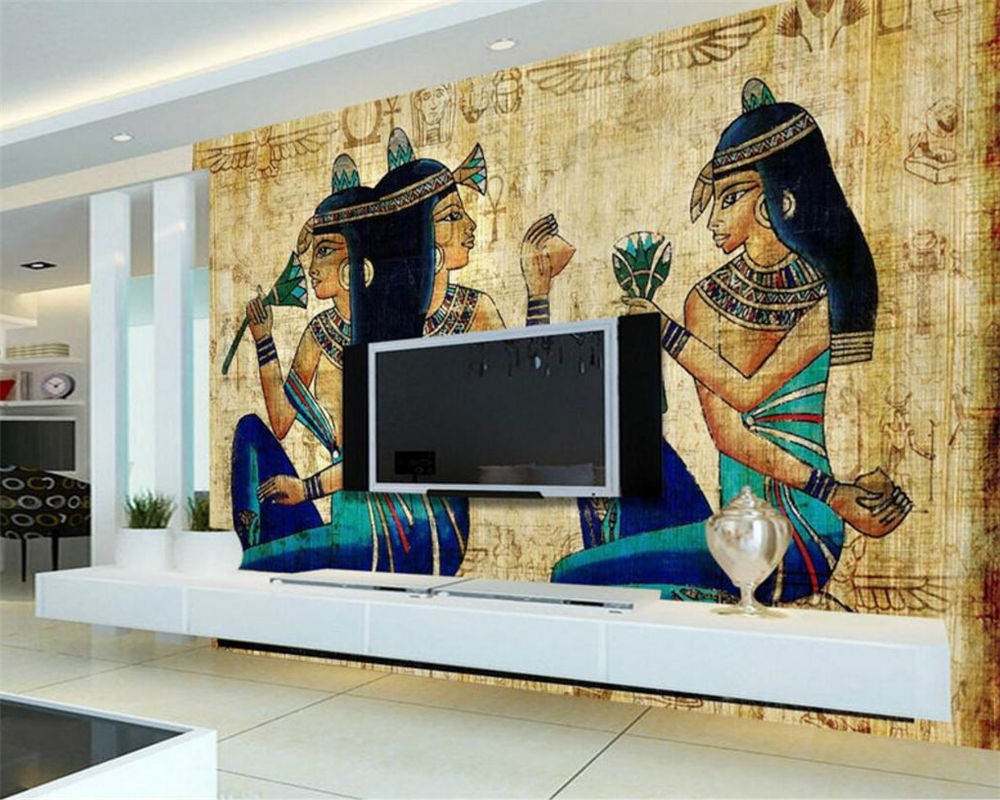 Osbourne Wall Décor By Wildon Home Intended For Most Popular Beibehang 3d Photo Wallpapers European Ancient Egyptian Hand (View 8 of 20)
