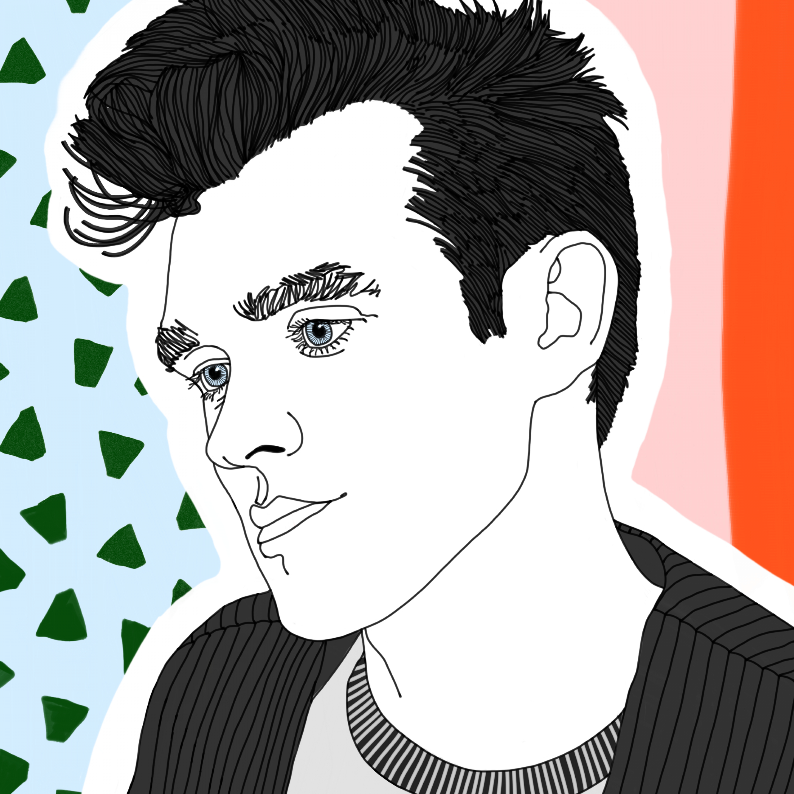 """Osbourne Wall Décor By Wildon Home Intended For Well Known Morrissey – 5 X 7"""" Print, Graphic Illustration, The Smiths (View 13 of 20)"""