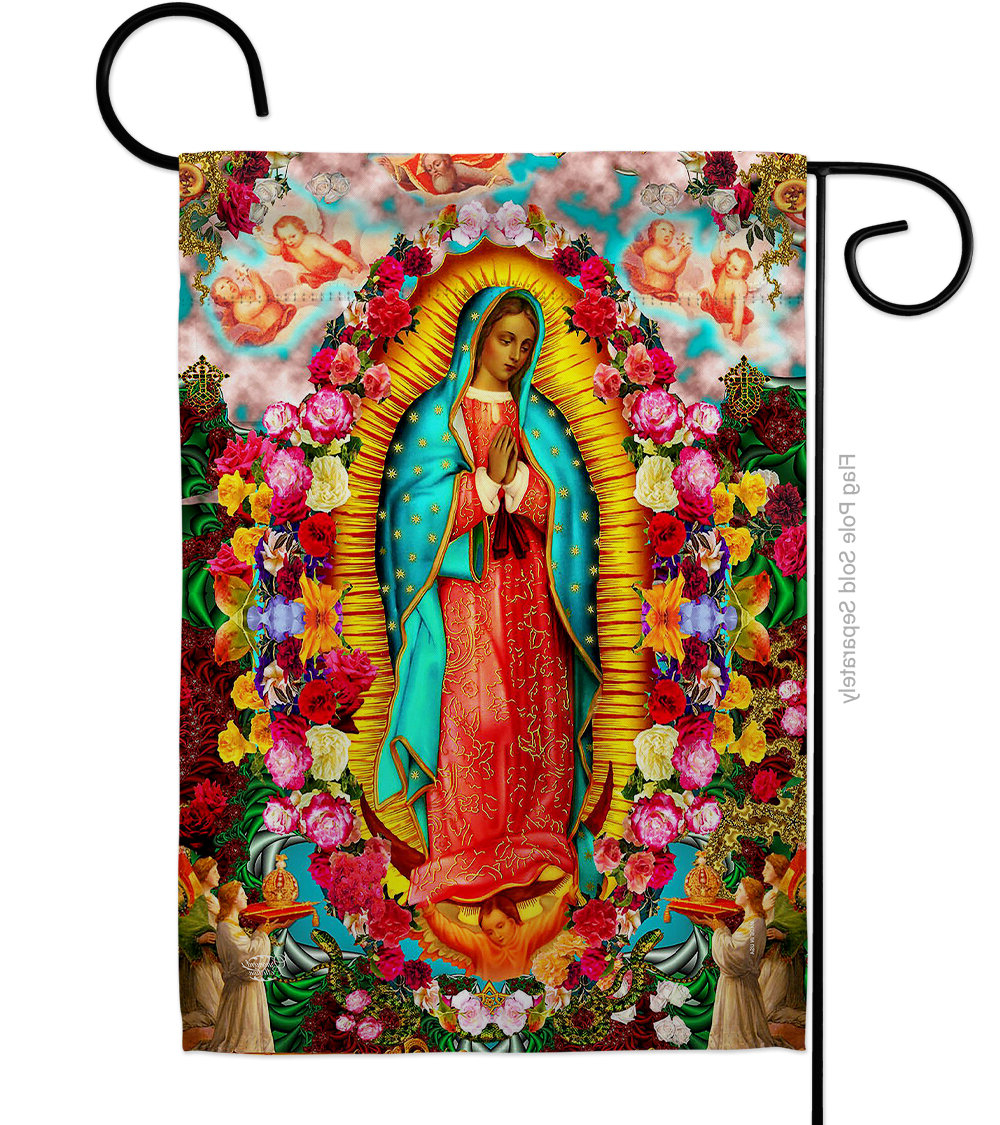 Our Lady Of Guadalupe 2 Sided Polyester/polyester Blend 18 X 13 In (View 4 of 20)