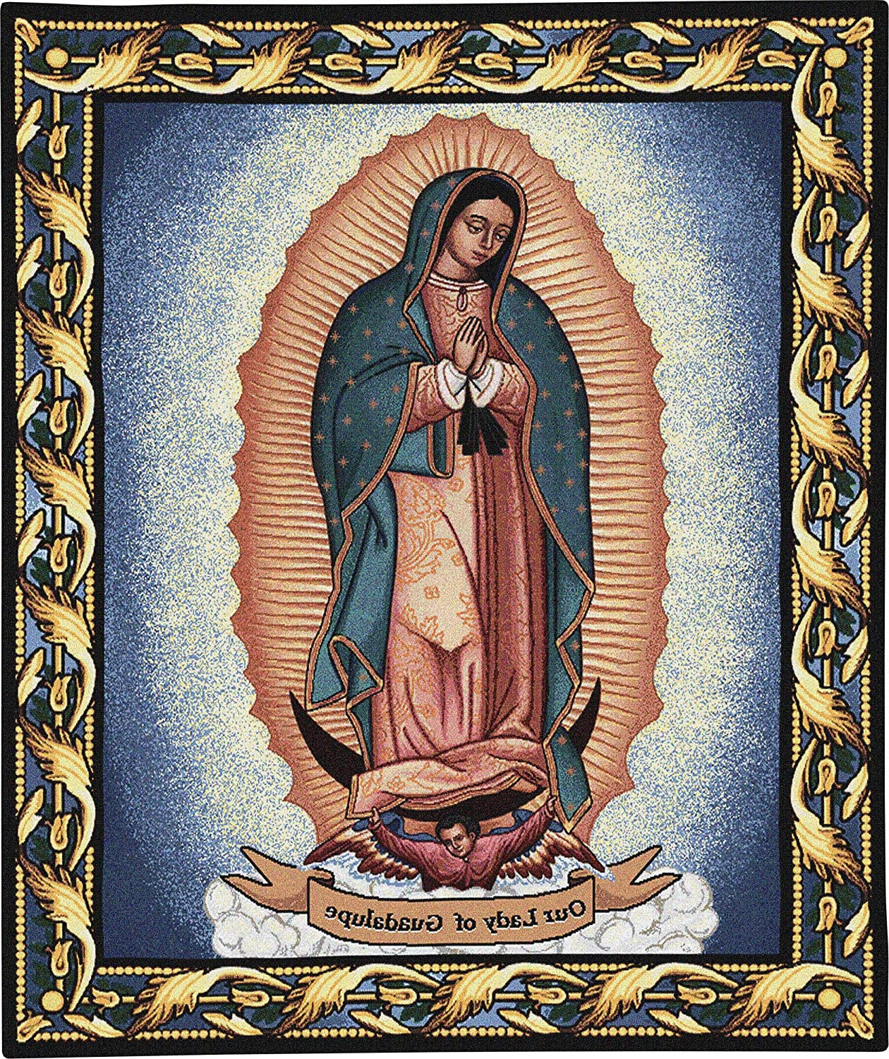[%our Lady Of Guadalupejuan Diego | Woven Tapestry Wall Art Hanging | Mother Mary Inspirational Religious Catholic | 100% Cotton Usa Size 32x26 Inside Best And Newest Blended Fabric Our Lady Of Guadalupe Wall Hangings|blended Fabric Our Lady Of Guadalupe Wall Hangings For Trendy Our Lady Of Guadalupejuan Diego | Woven Tapestry Wall Art Hanging | Mother Mary Inspirational Religious Catholic | 100% Cotton Usa Size 32x26|most Current Blended Fabric Our Lady Of Guadalupe Wall Hangings In Our Lady Of Guadalupejuan Diego | Woven Tapestry Wall Art Hanging | Mother Mary Inspirational Religious Catholic | 100% Cotton Usa Size 32x26|most Current Our Lady Of Guadalupejuan Diego | Woven Tapestry Wall Art Hanging | Mother Mary Inspirational Religious Catholic | 100% Cotton Usa Size 32x26 For Blended Fabric Our Lady Of Guadalupe Wall Hangings%] (View 3 of 20)